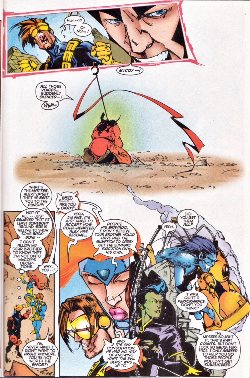 Read online Uncanny X-Men (1963) comic -  Issue # _Annual 1997 - 34
