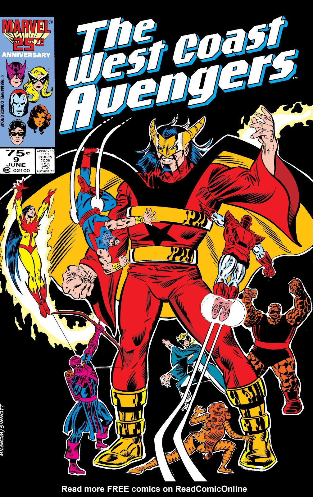 West Coast Avengers (1985) 9 Page 1