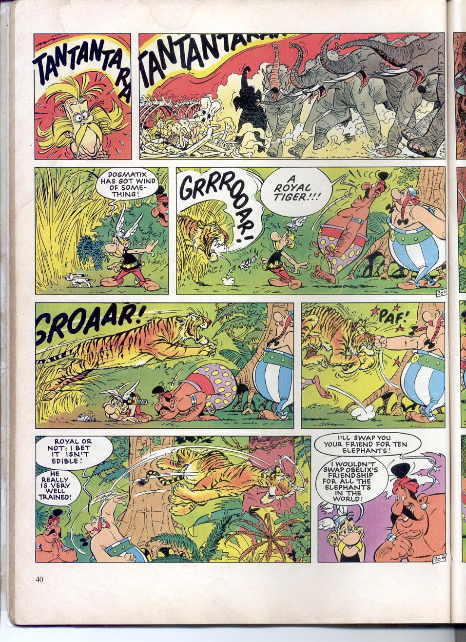 Read online Asterix comic -  Issue #28 - 37