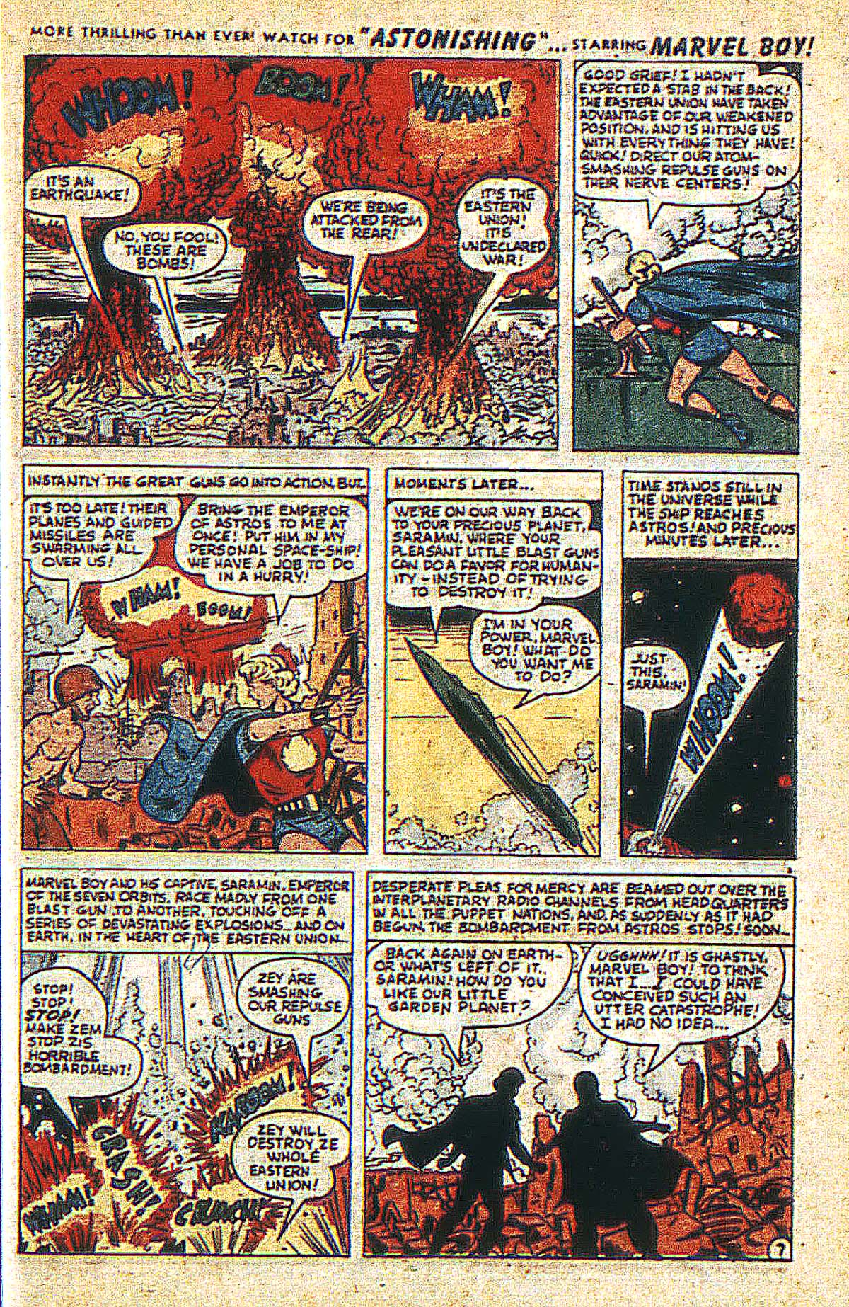 Read online Marvel Boy (1950) comic -  Issue #2 - 10