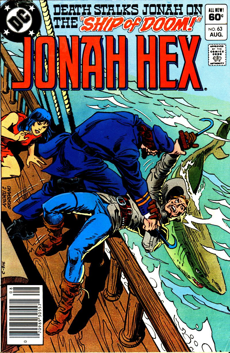 Jonah Hex (1977) 63 Page 1