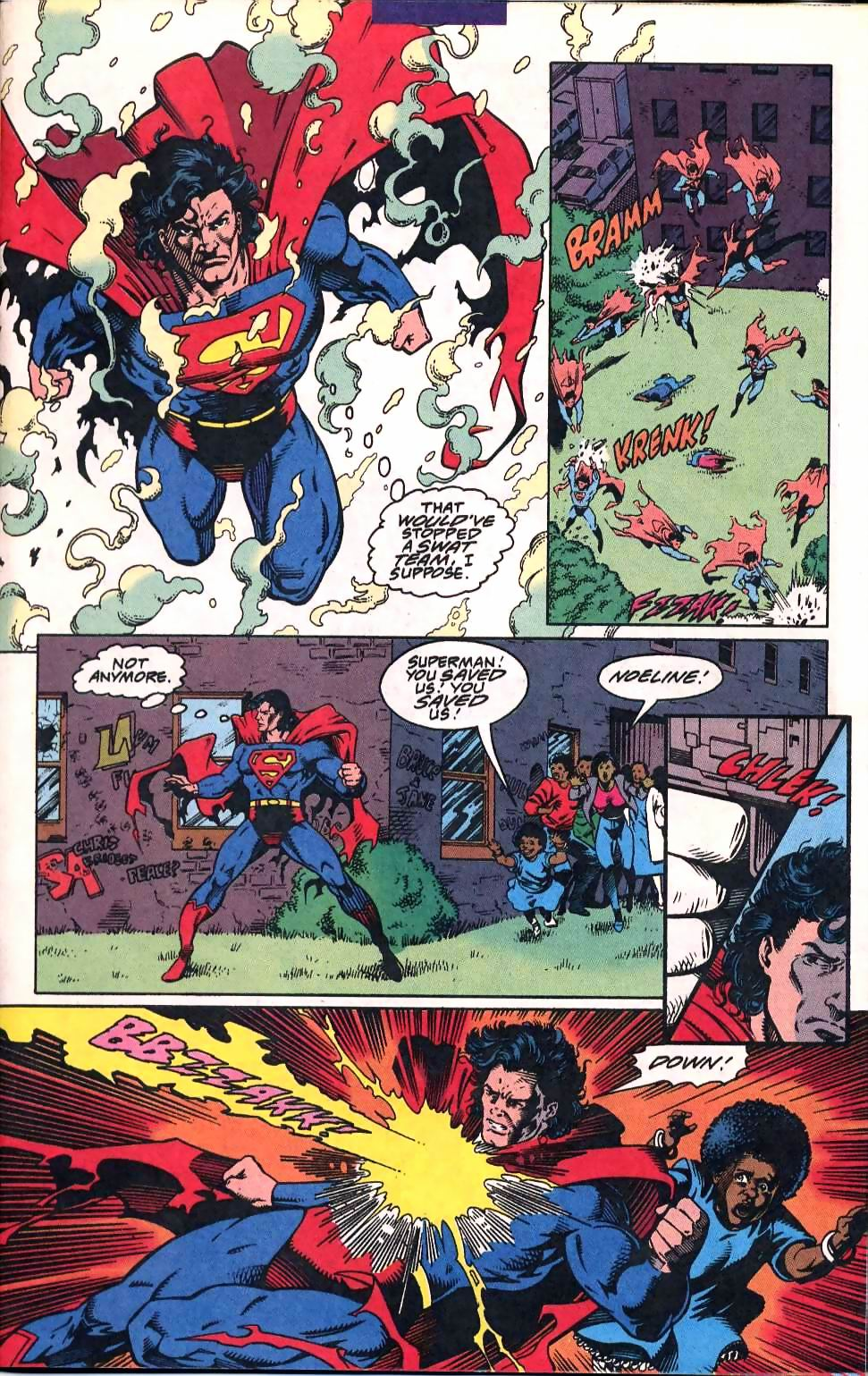 Read online Adventures of Superman (1987) comic -  Issue #507 - 11