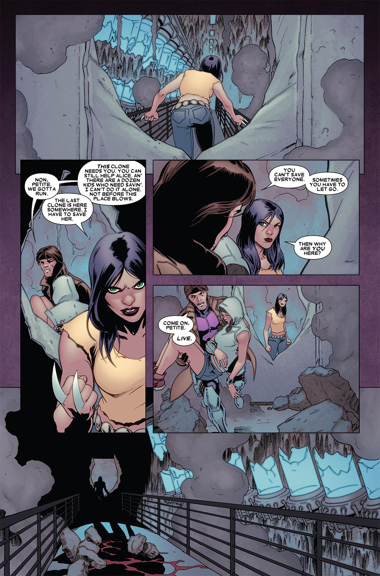 Read online X-23 (2010) comic -  Issue #6 - 21