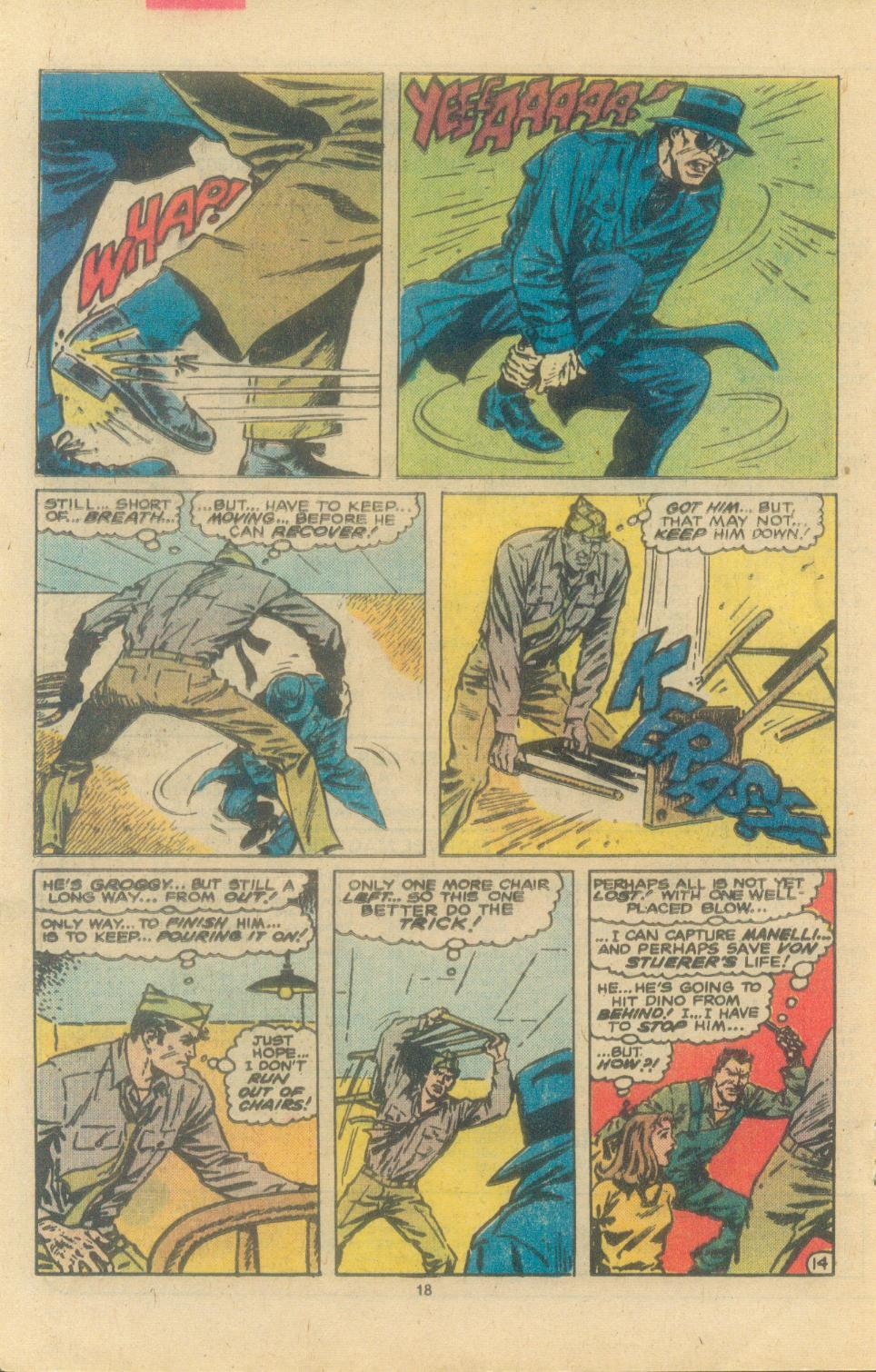 Read online Sgt. Fury comic -  Issue #163 - 20