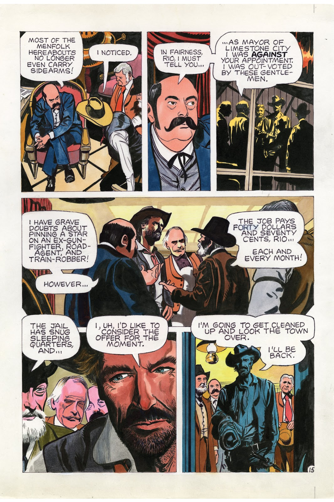 Read online Doug Wildey's Rio: The Complete Saga comic -  Issue # TPB (Part 1) - 81