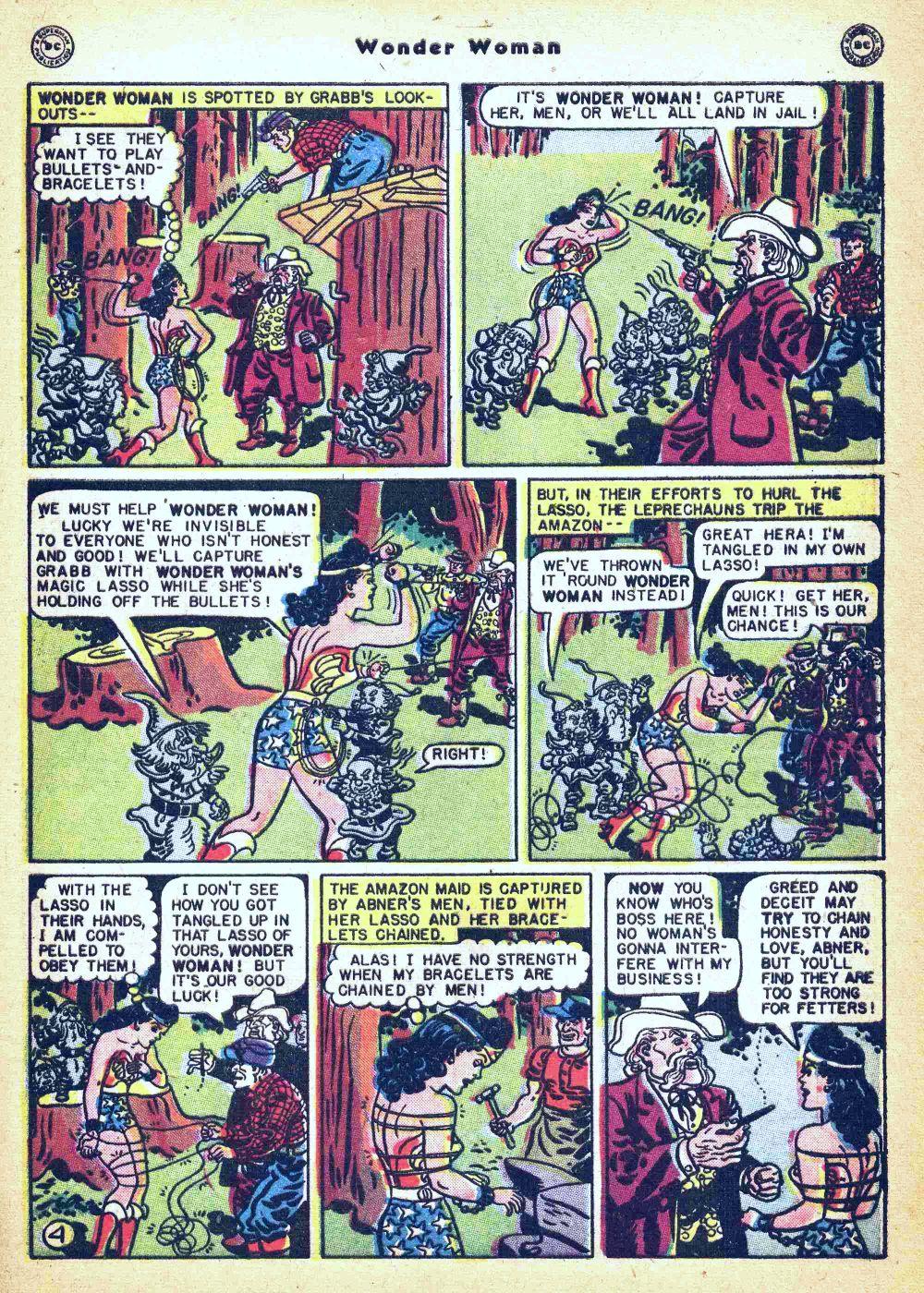 Read online Wonder Woman (1942) comic -  Issue #35 - 41