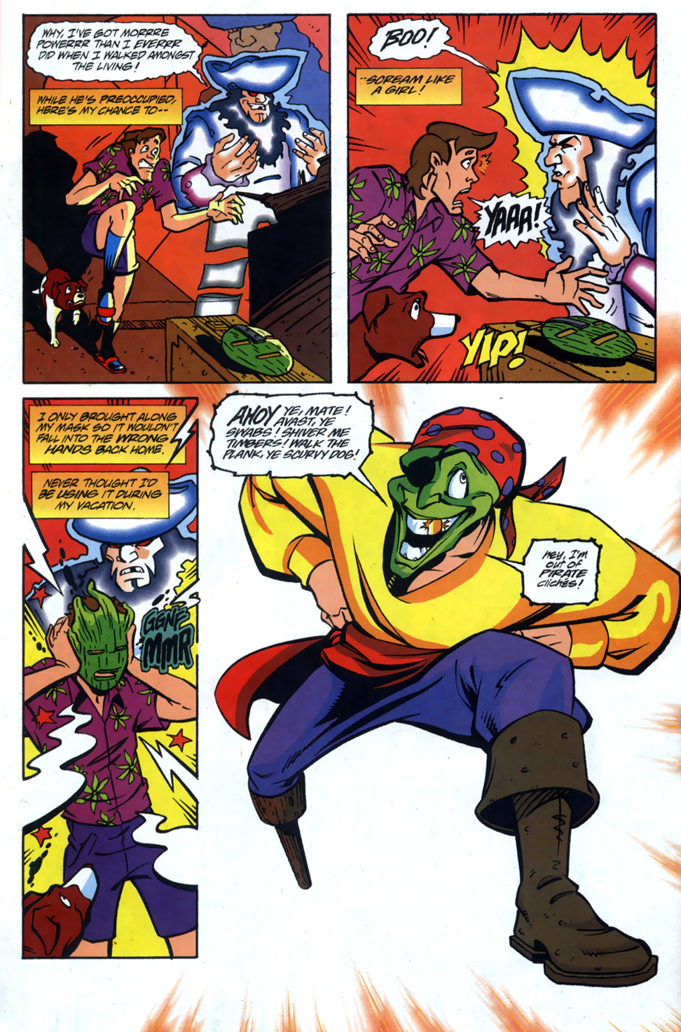 Read online Adventures Of The Mask comic -  Issue #5 - 15