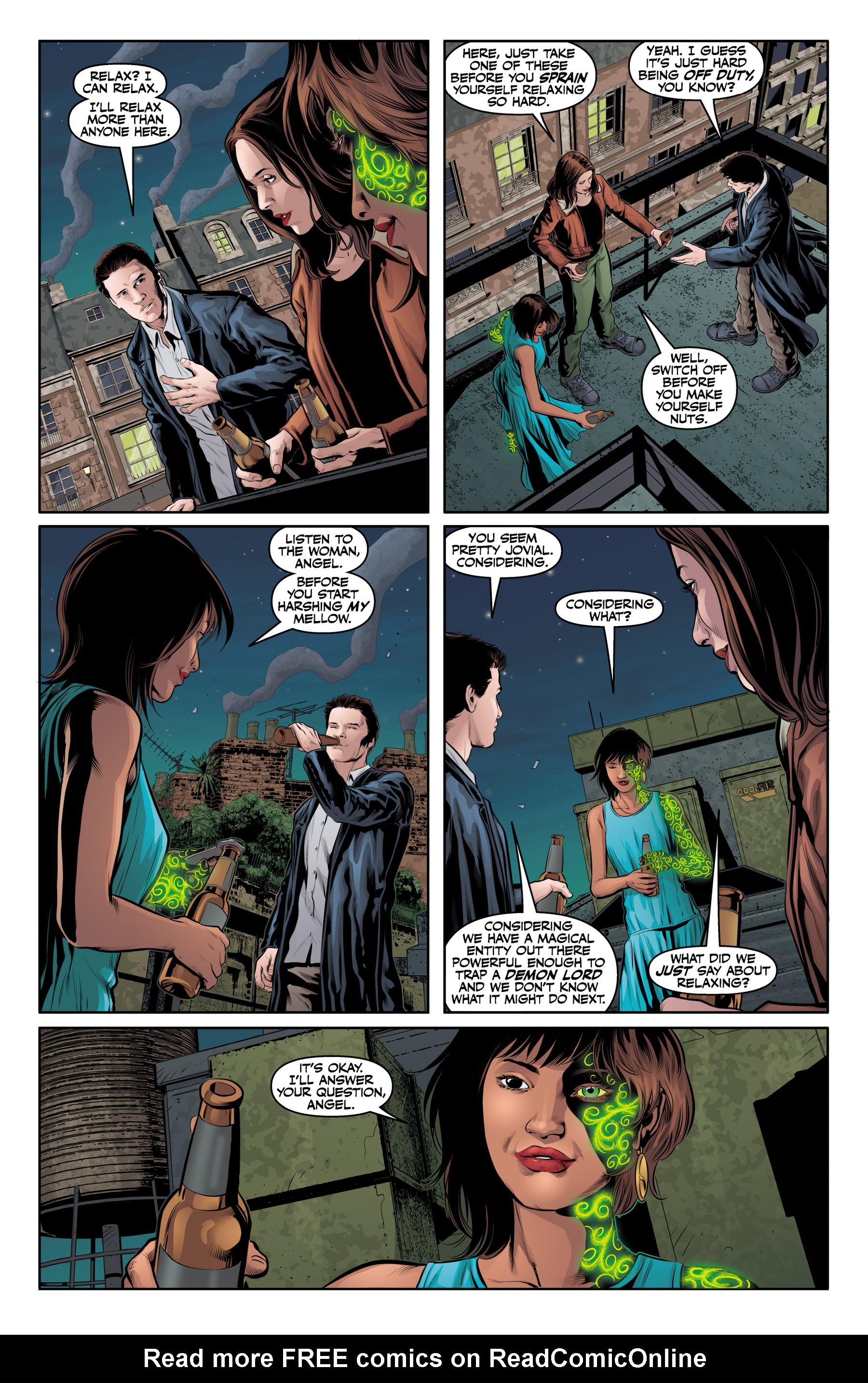 Read online Angel & Faith Season 10 comic -  Issue #25 - 20