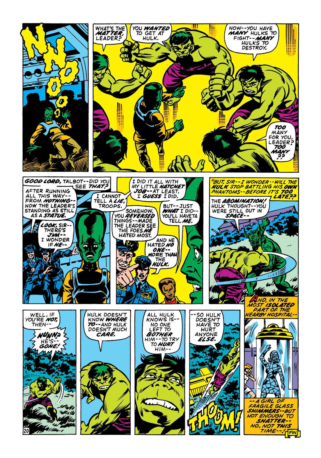 Read online Marvel Masterworks: The Incredible Hulk comic -  Issue # TPB 7 (Part 2) - 6