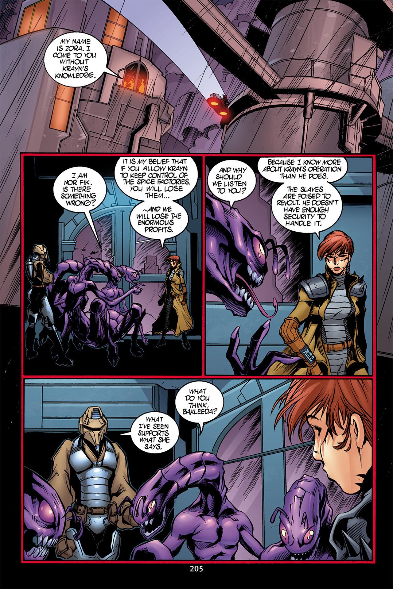 Read online Star Wars Omnibus comic -  Issue # Vol. 10 - 204