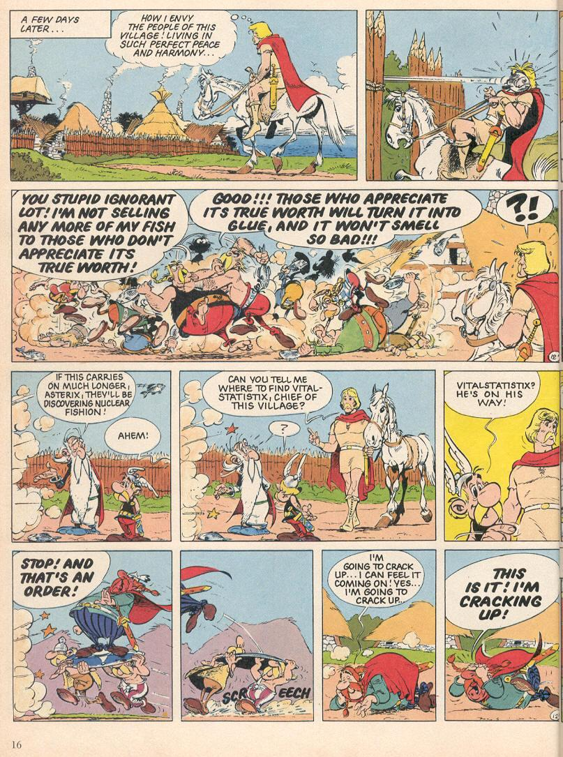 Read online Asterix comic -  Issue #25 - 13