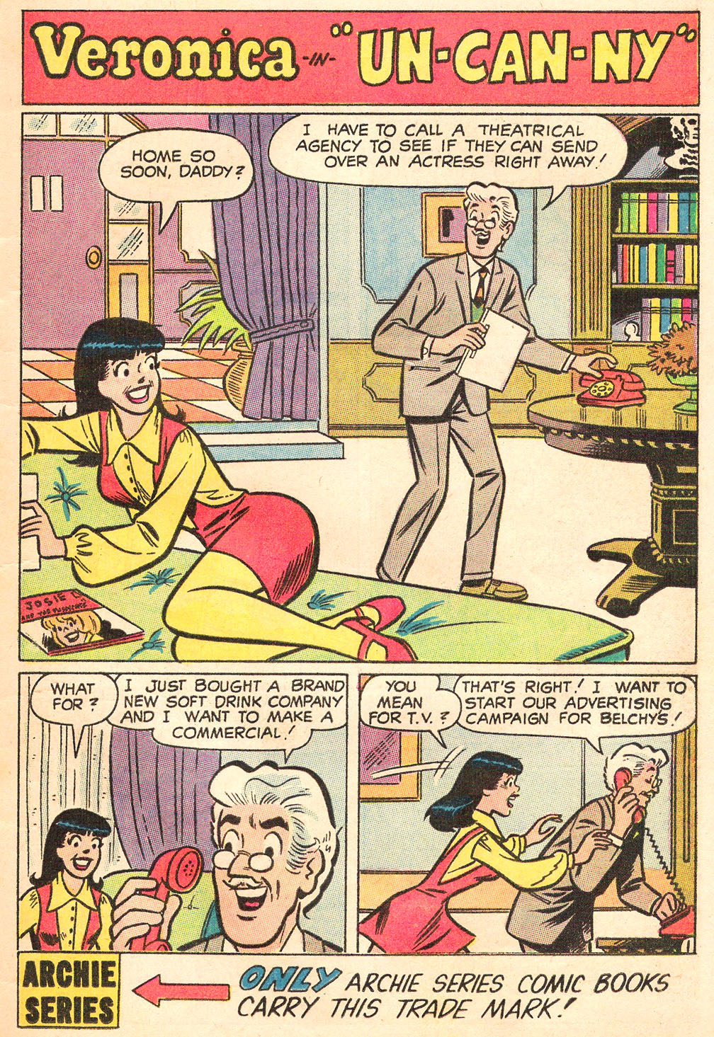 Read online Archie's Girls Betty and Veronica comic -  Issue #169 - 13