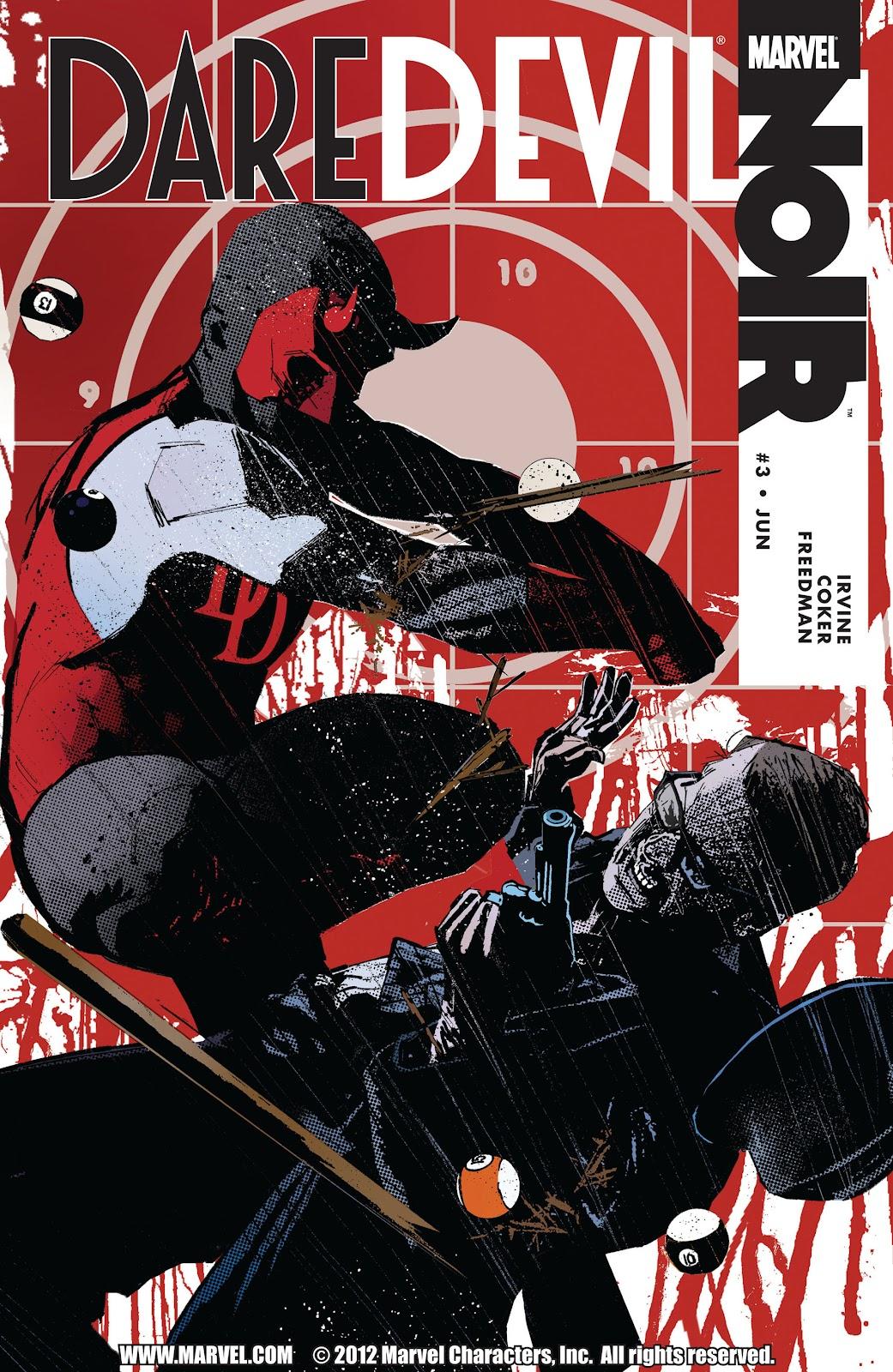 Daredevil Noir issue 3 - Page 1