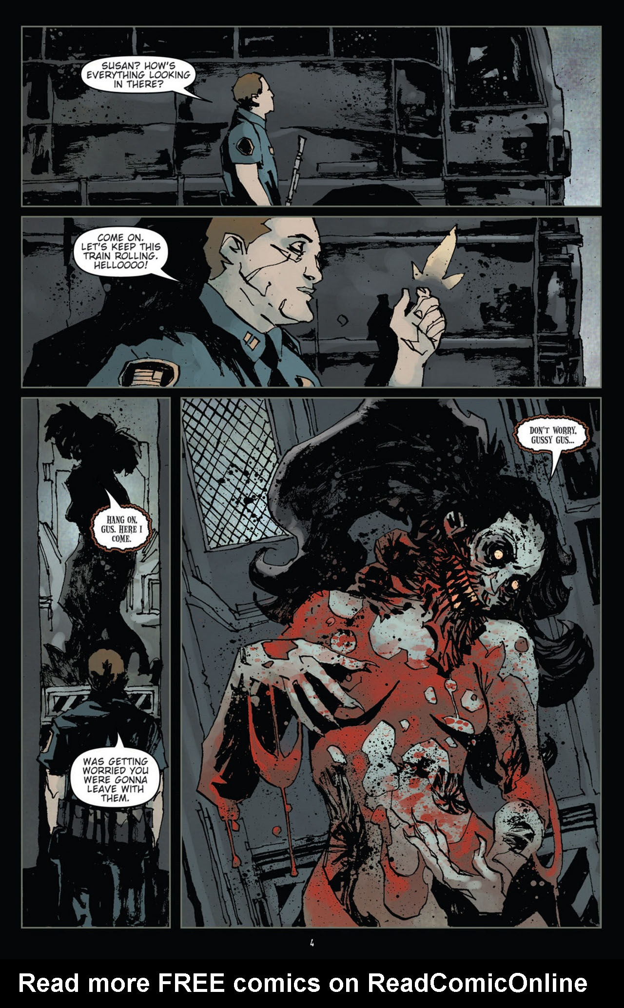 Read online 30 Days of Night (2011) comic -  Issue #10 - 5