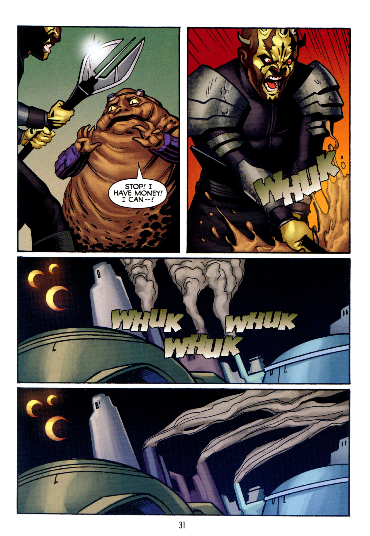 Read online Star Wars: The Clone Wars - Strange Allies comic -  Issue # Full - 32