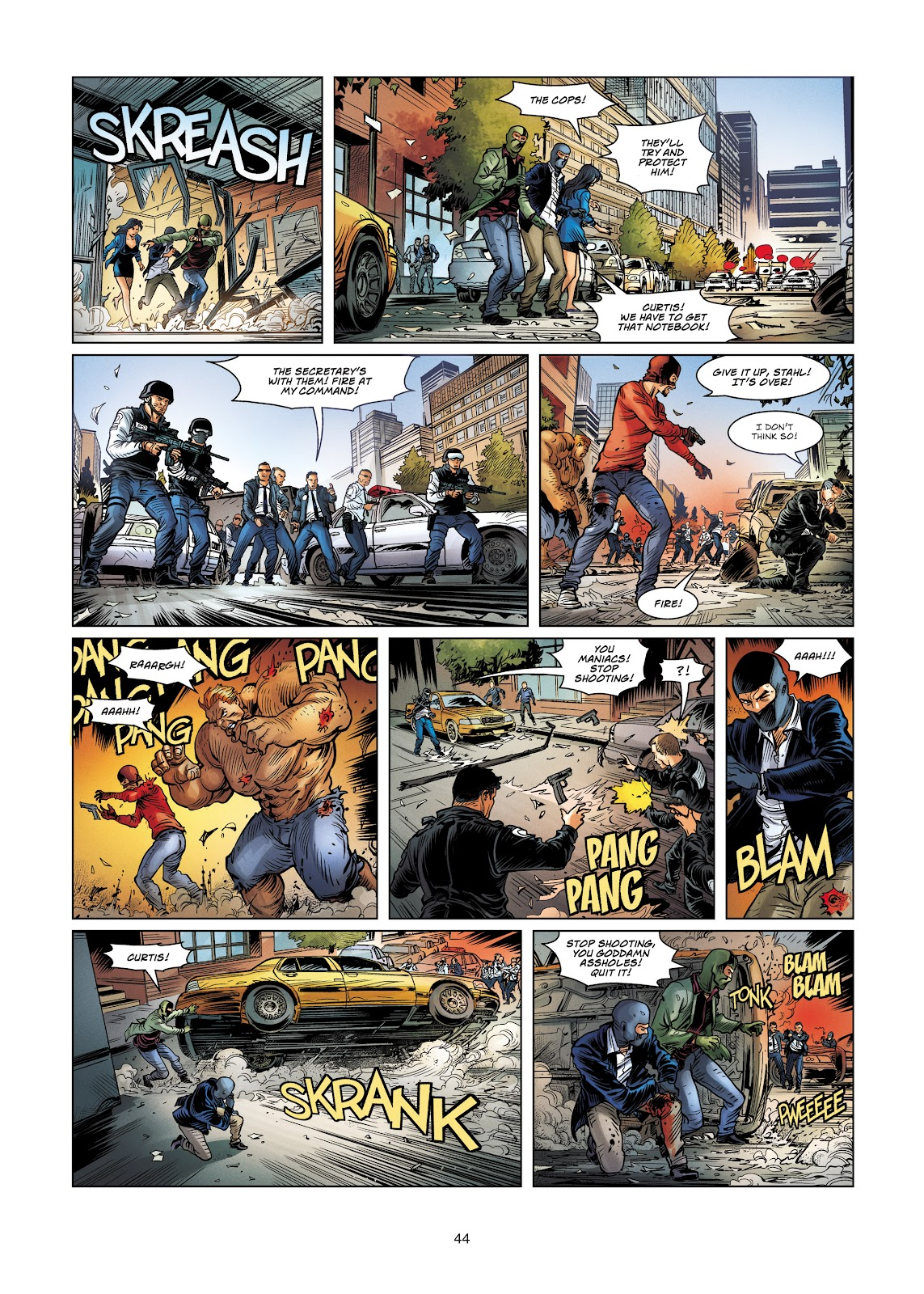 Read online Vigilantes comic -  Issue #4 - 44
