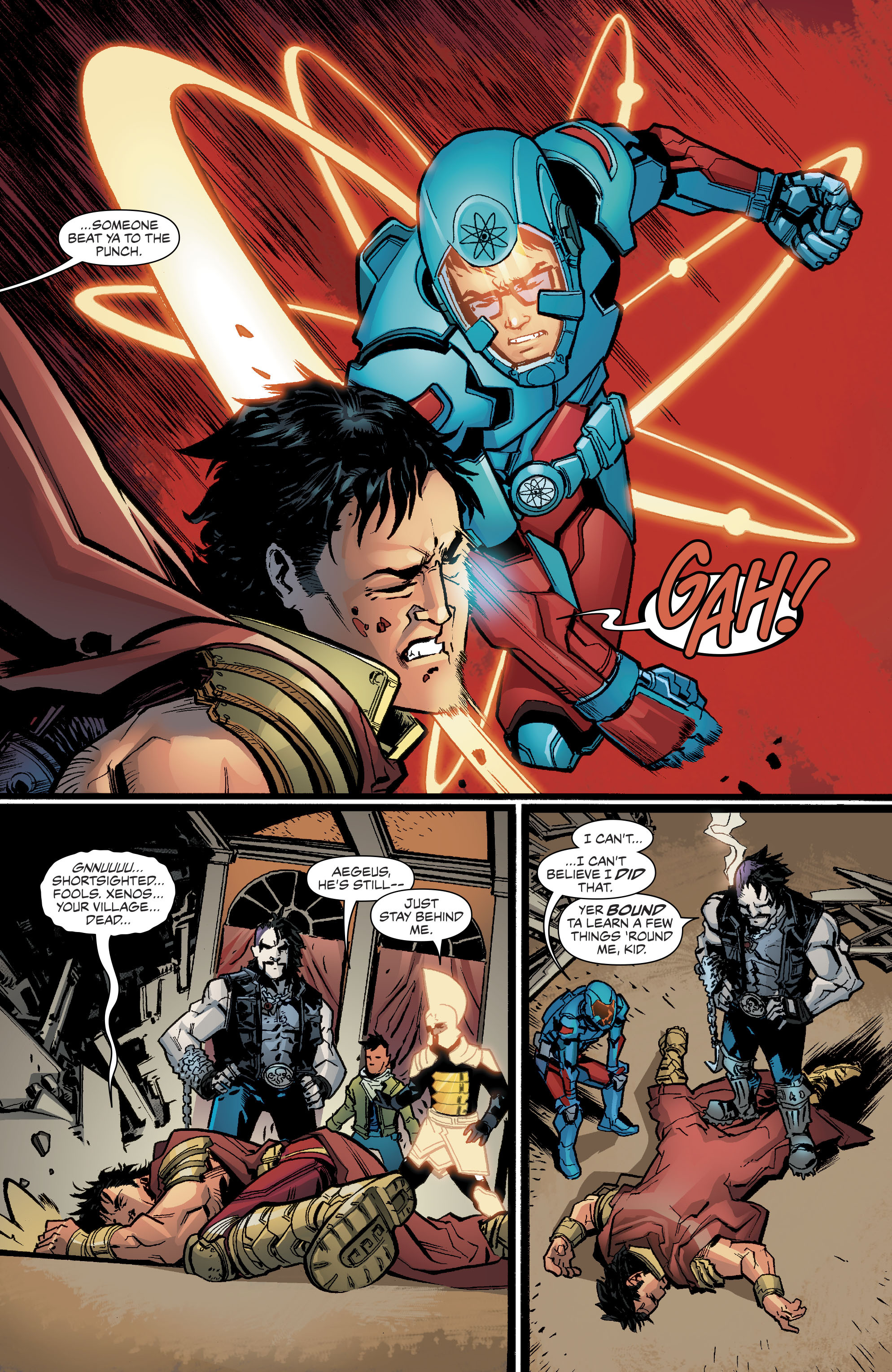 Read online Justice League of America (2017) comic -  Issue #6 - 16