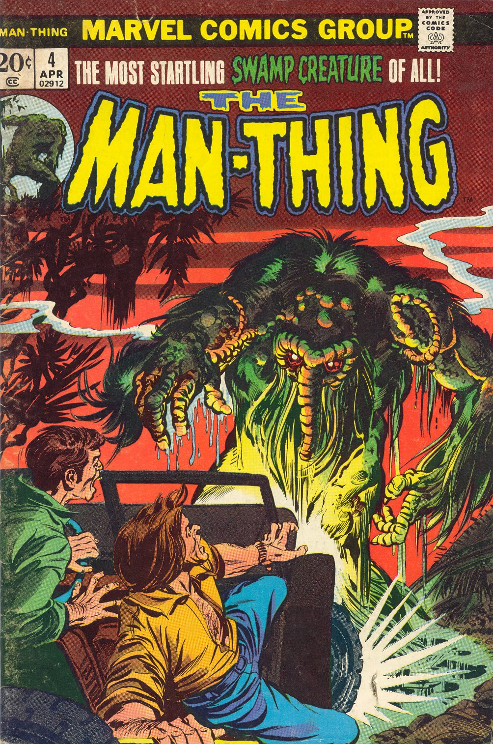 Man-Thing (1974) issue 4 - Page 1