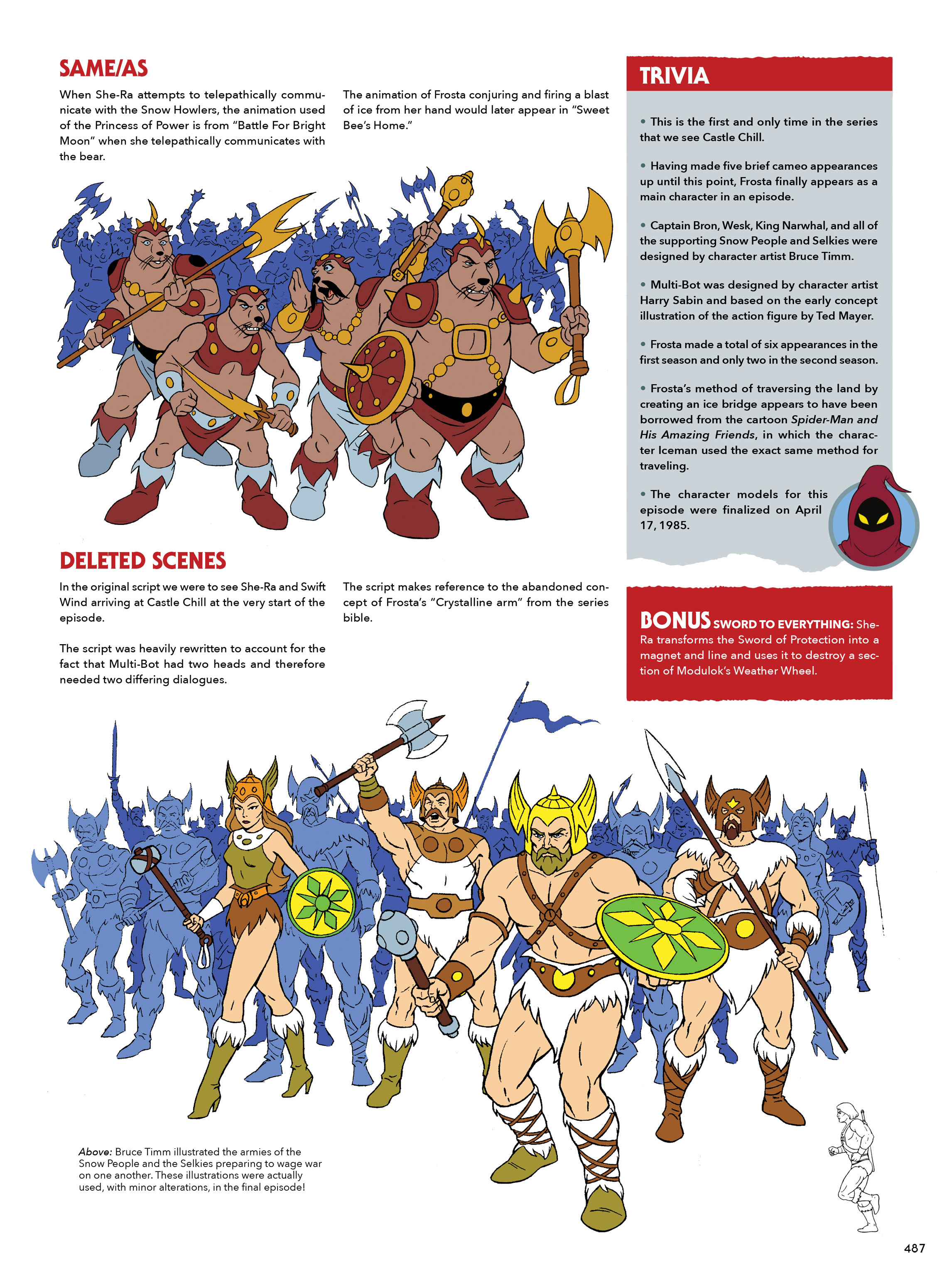 Read online He-Man and She-Ra: A Complete Guide to the Classic Animated Adventures comic -  Issue # TPB (Part 3) - 87