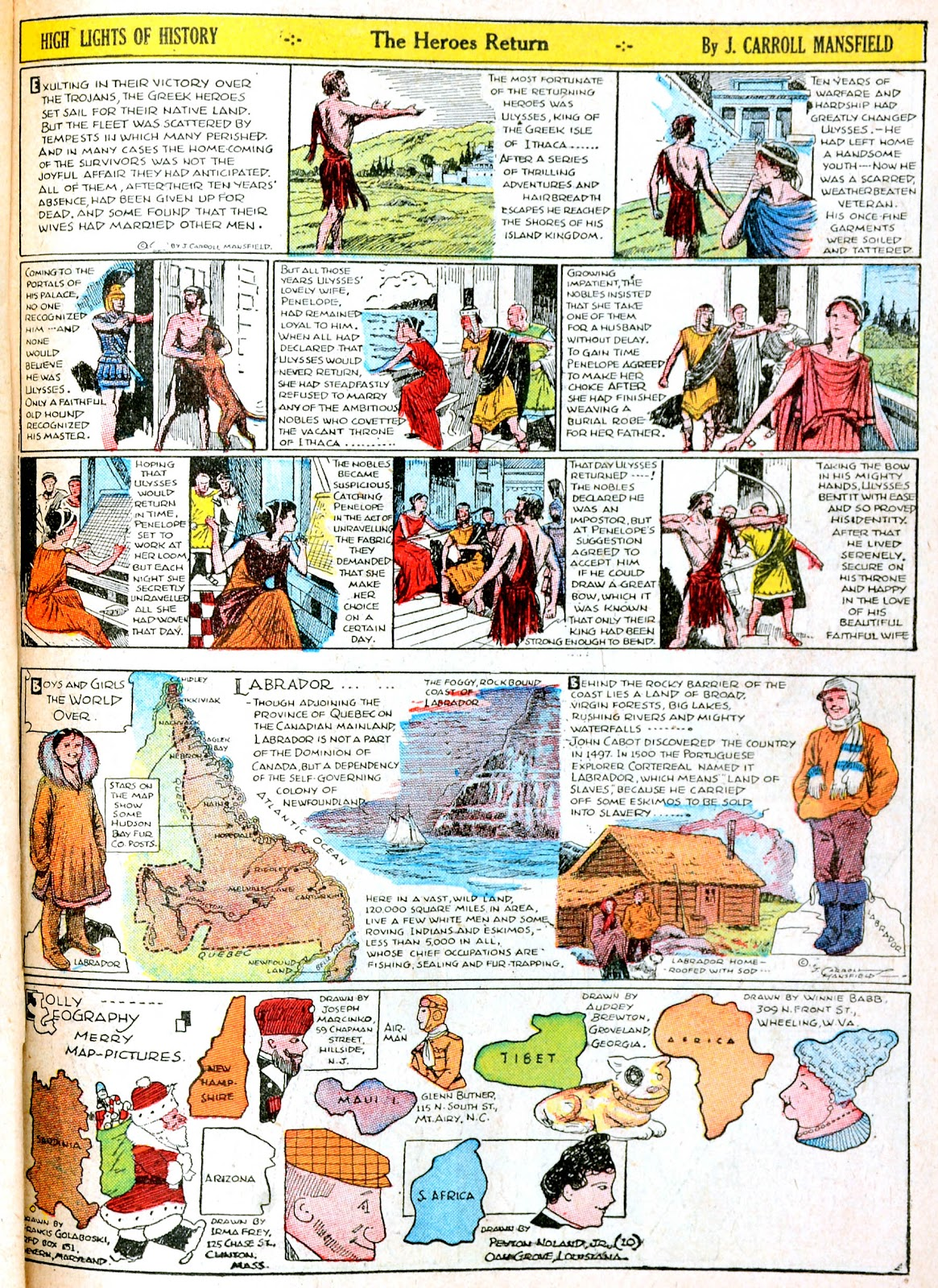 Read online Famous Funnies comic -  Issue #38 - 41