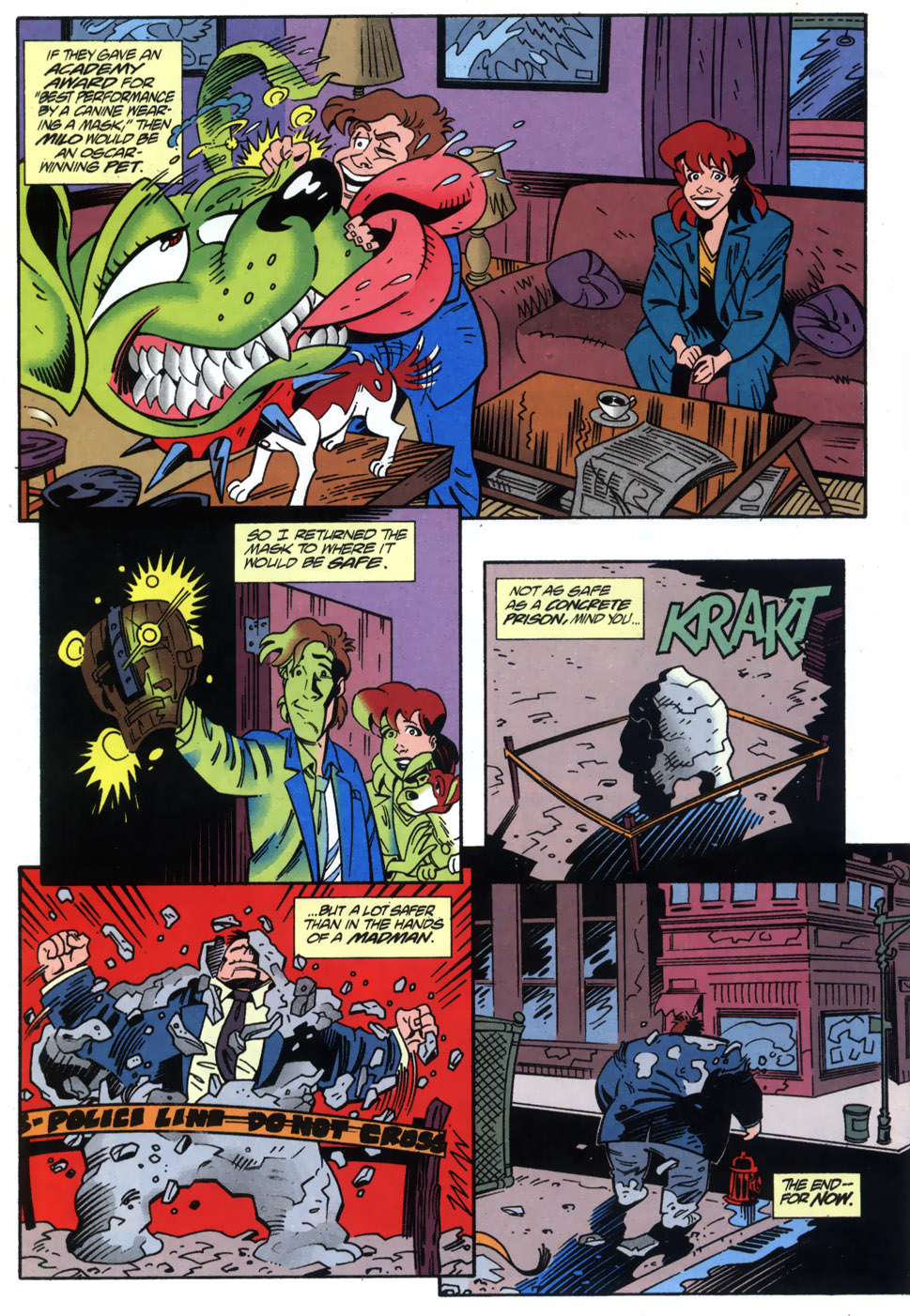 Read online Adventures Of The Mask comic -  Issue #2 - 24