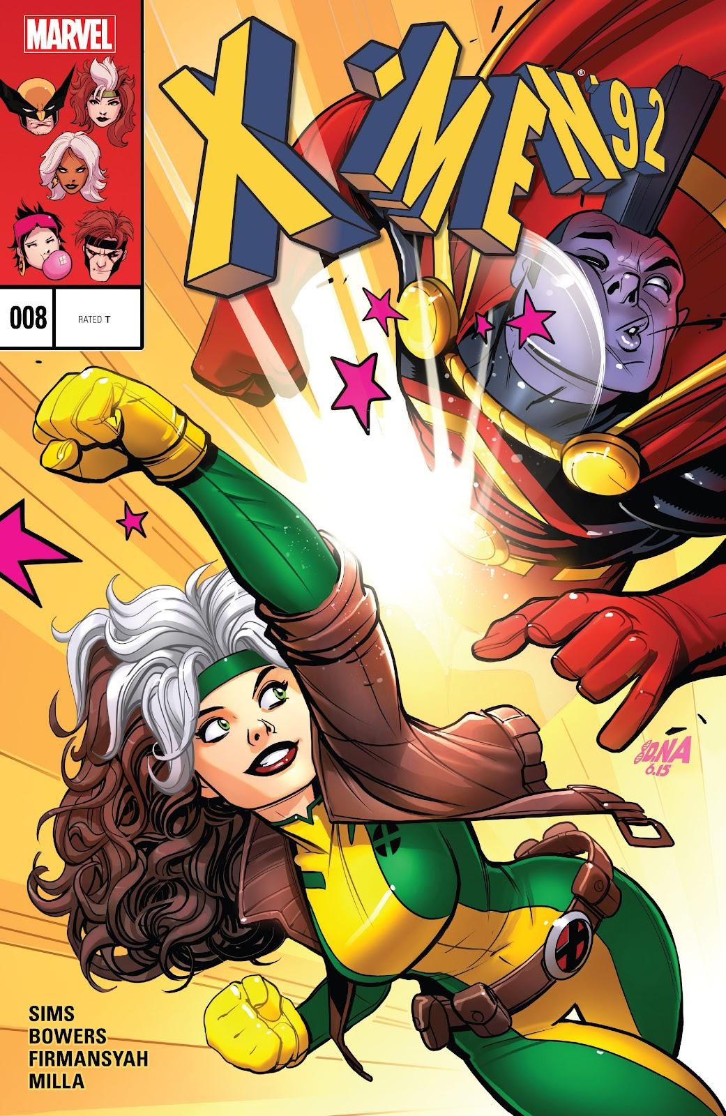 X-Men 92 (2016) 8 Page 1