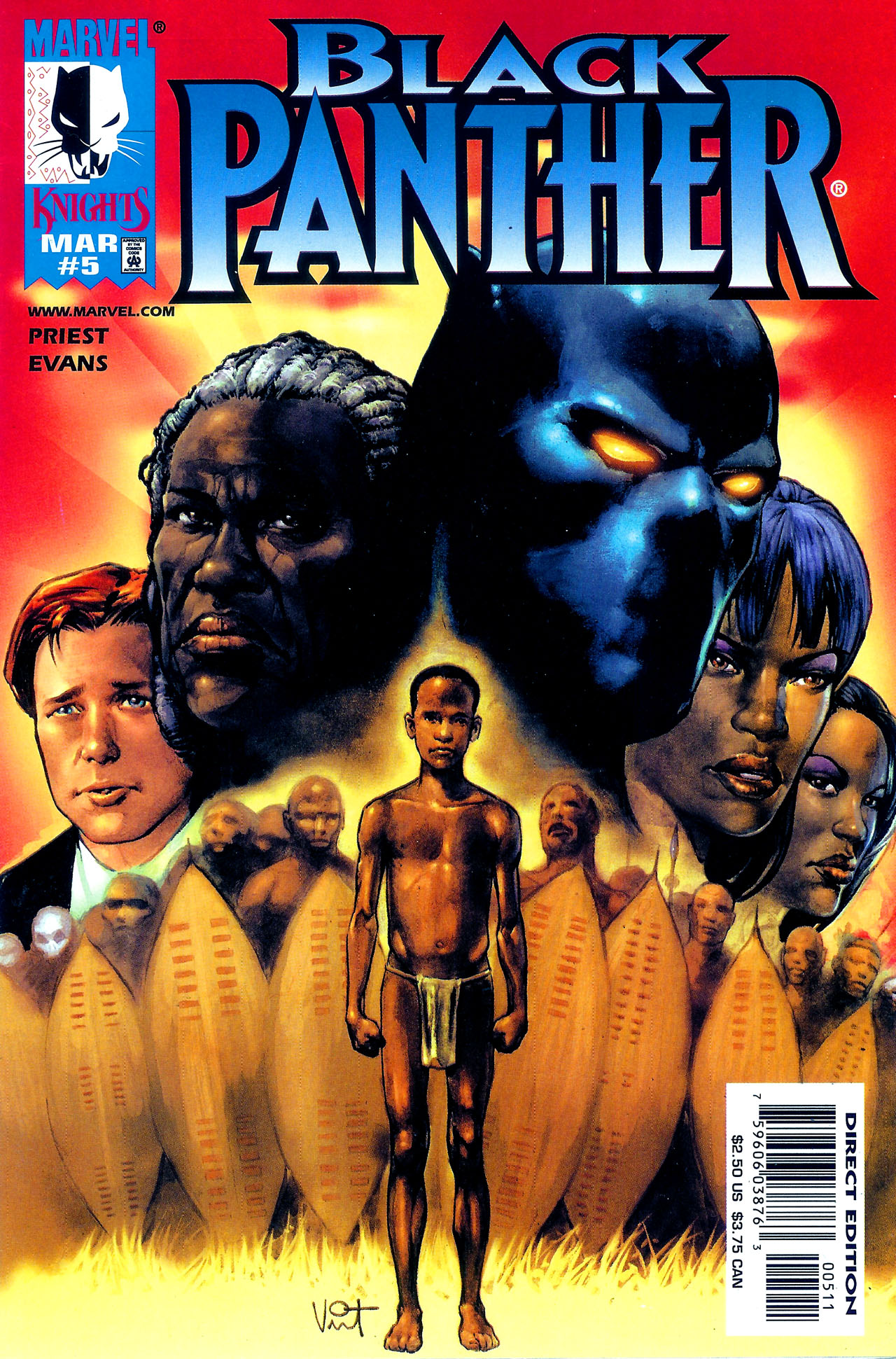 Black Panther (1998) 5 Page 1