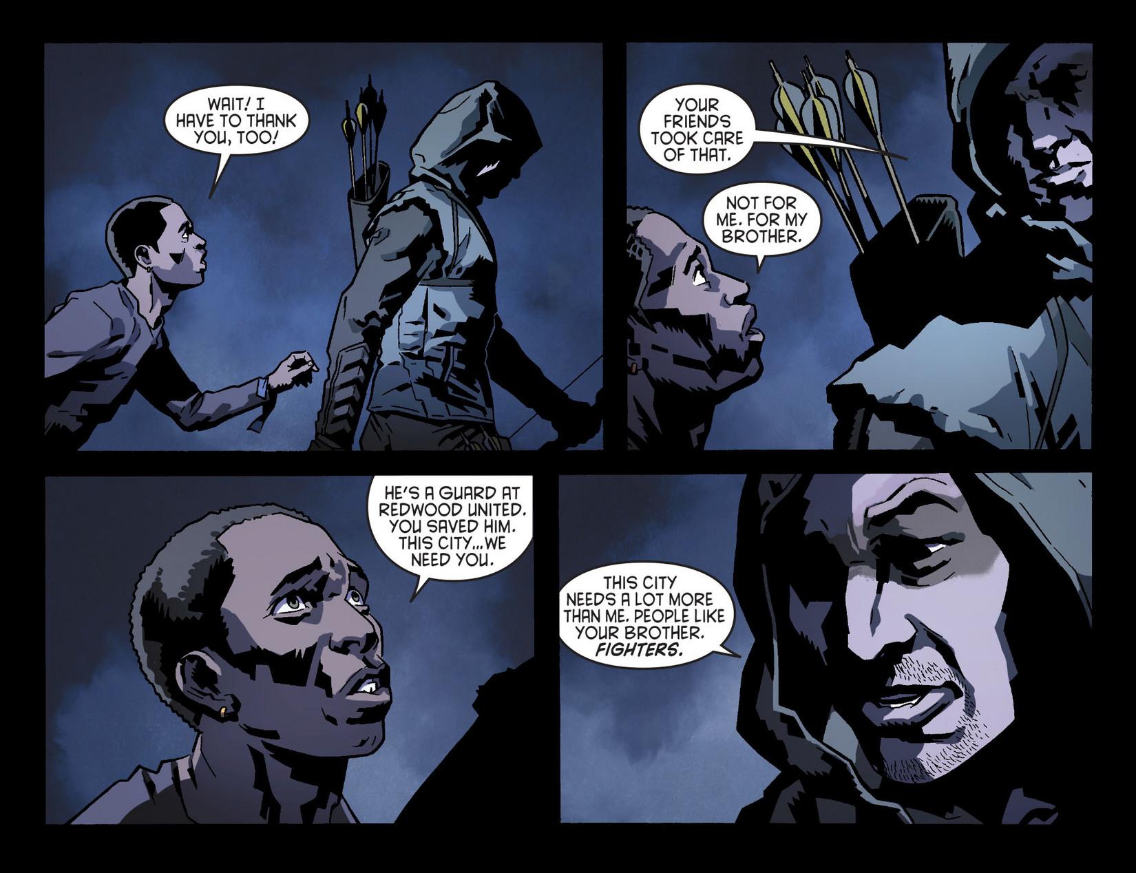 Read online Arrow [II] comic -  Issue #8 - 20