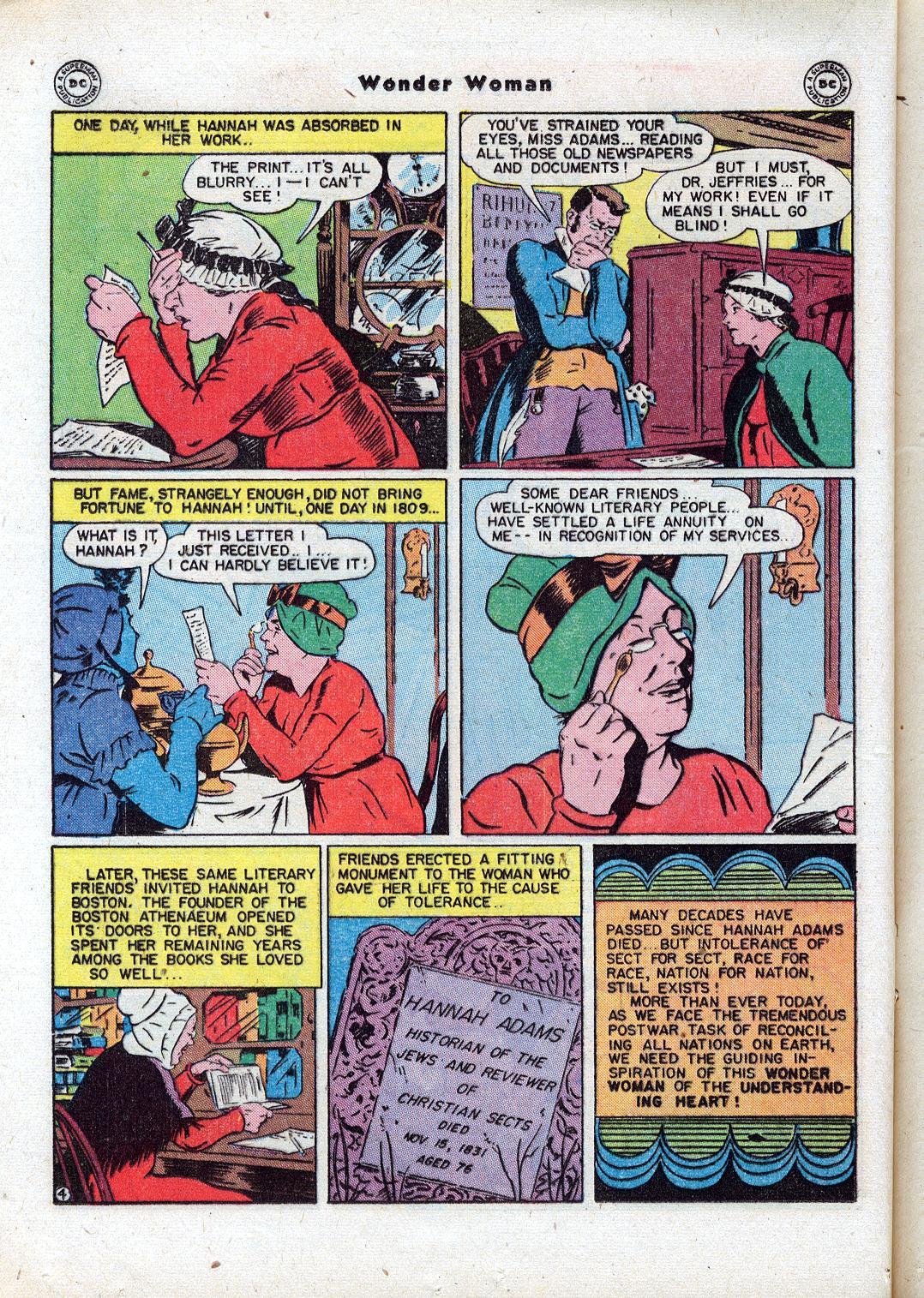Read online Wonder Woman (1942) comic -  Issue #18 - 22