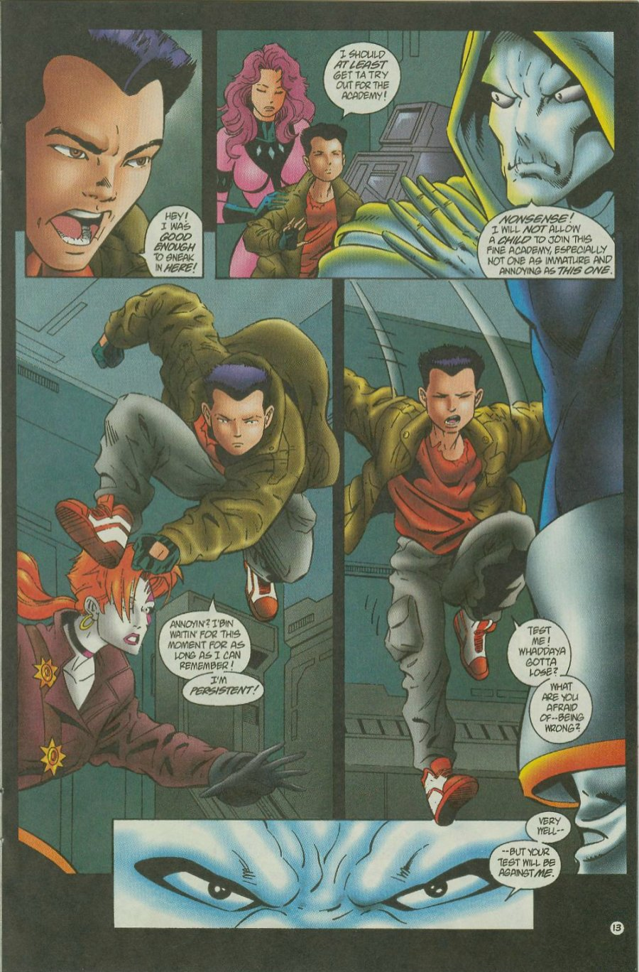 Read online Siren comic -  Issue #2 - 15