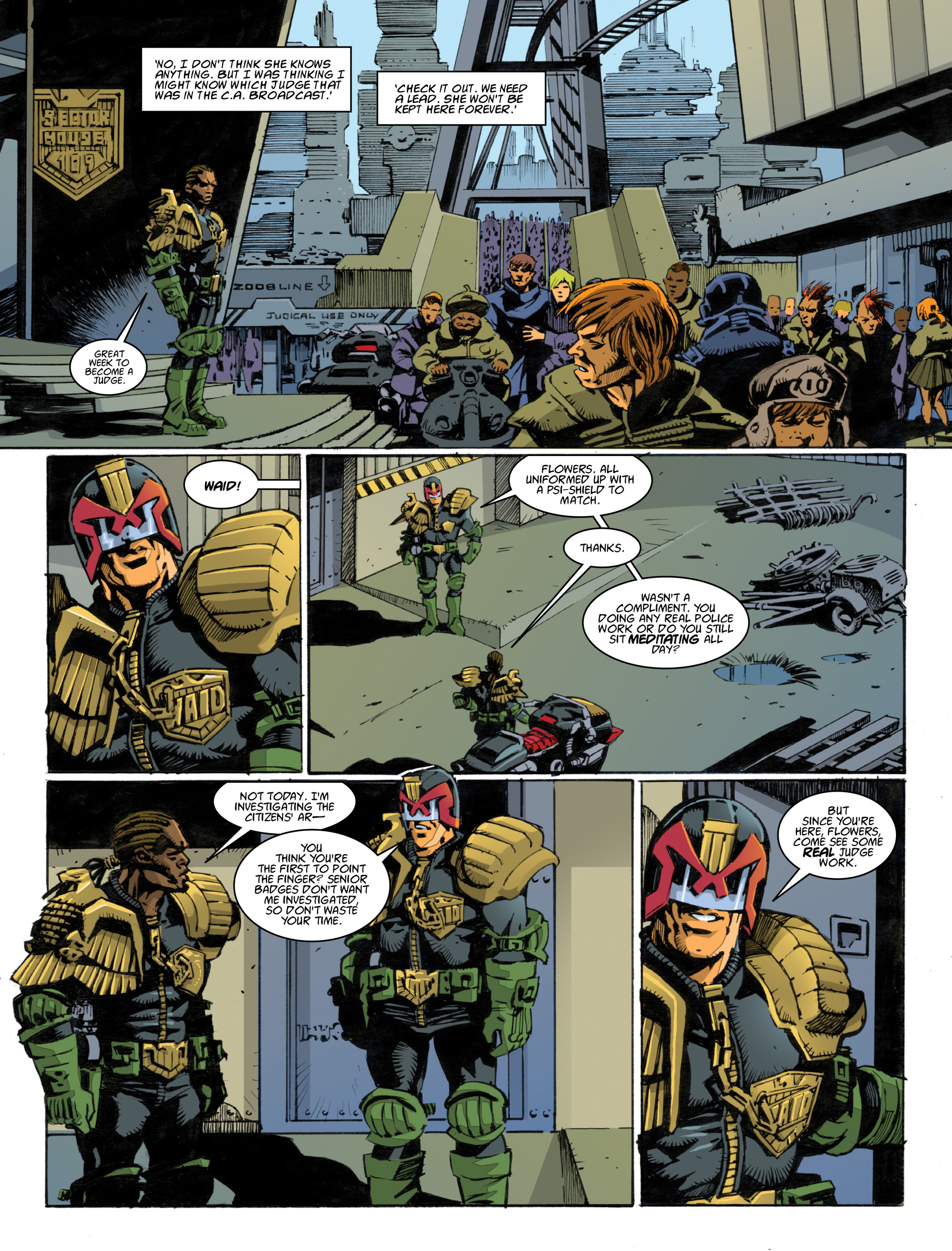 Read online 2000 AD comic -  Issue #1994 - 27