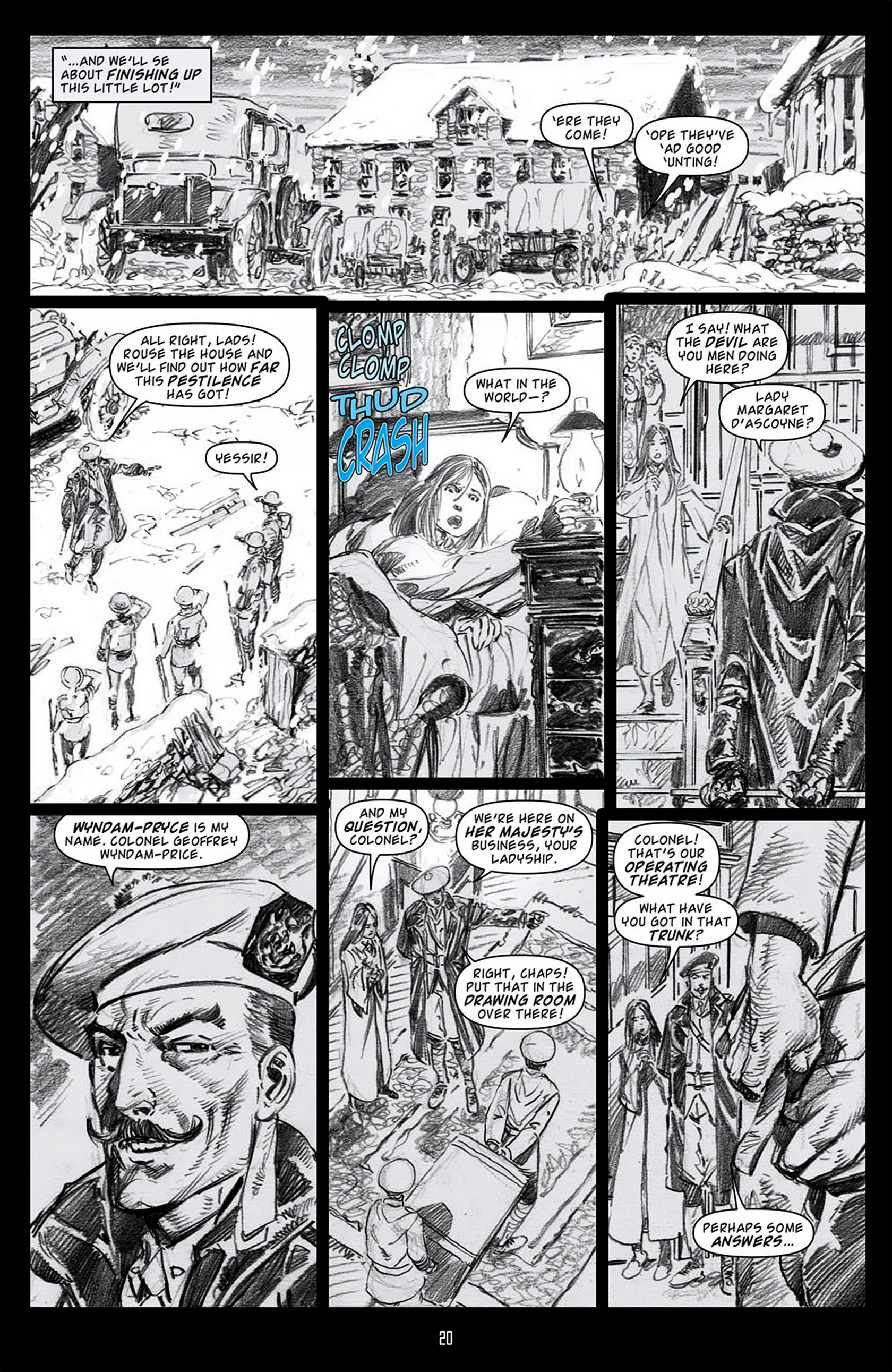 Read online Angel: Blood & Trenches comic -  Issue #1 - 23