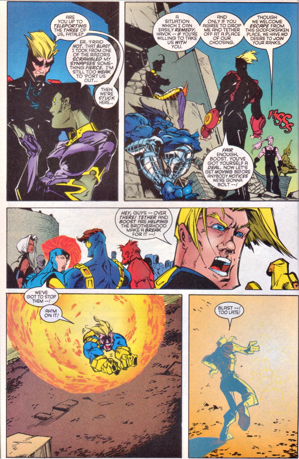 Read online Uncanny X-Men (1963) comic -  Issue # _Annual 1997 - 37