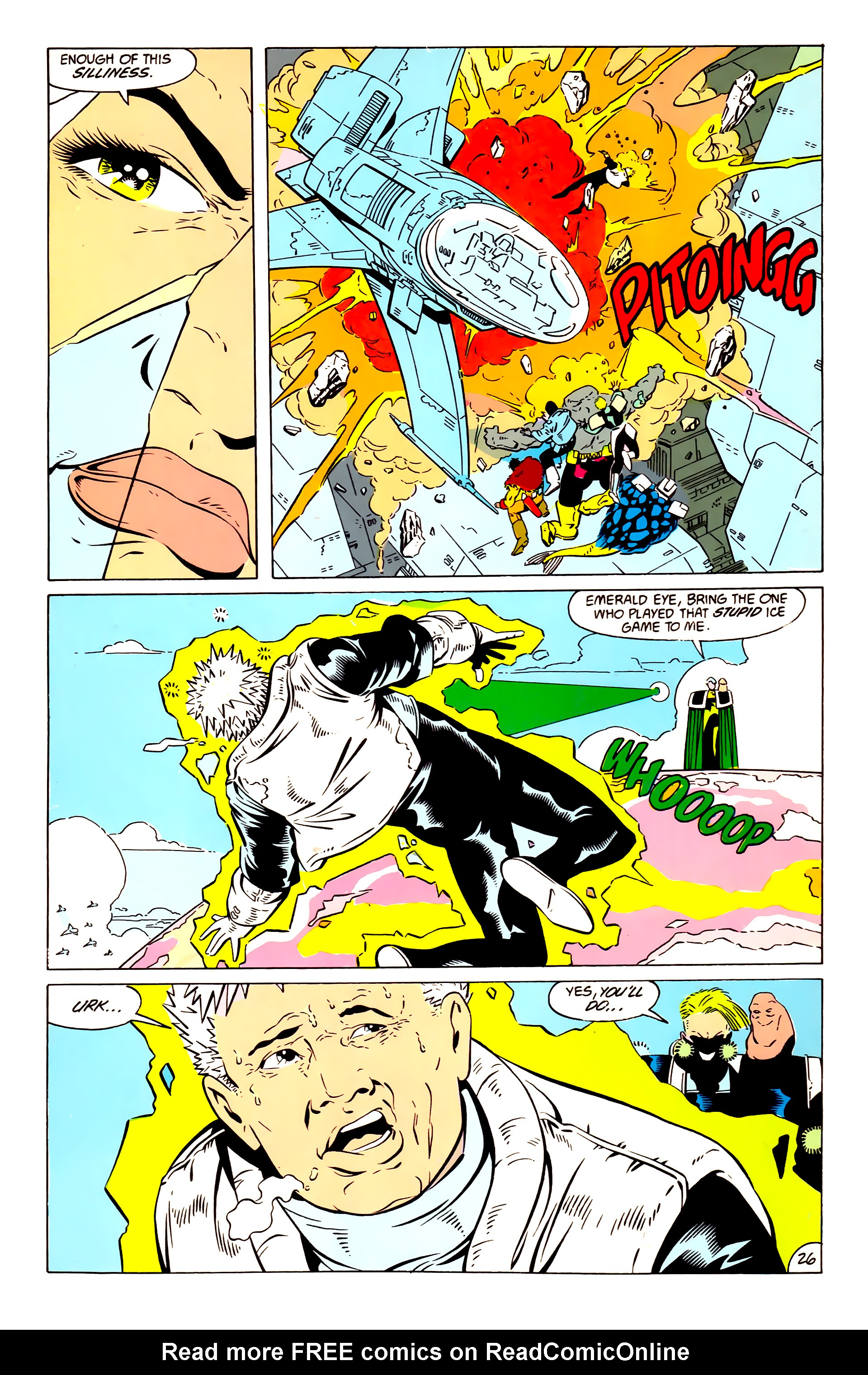 Legion of Super-Heroes (1984) 57 Page 26