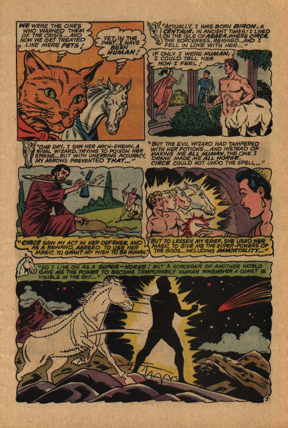 Read online Adventure Comics (1938) comic -  Issue #364 - 9