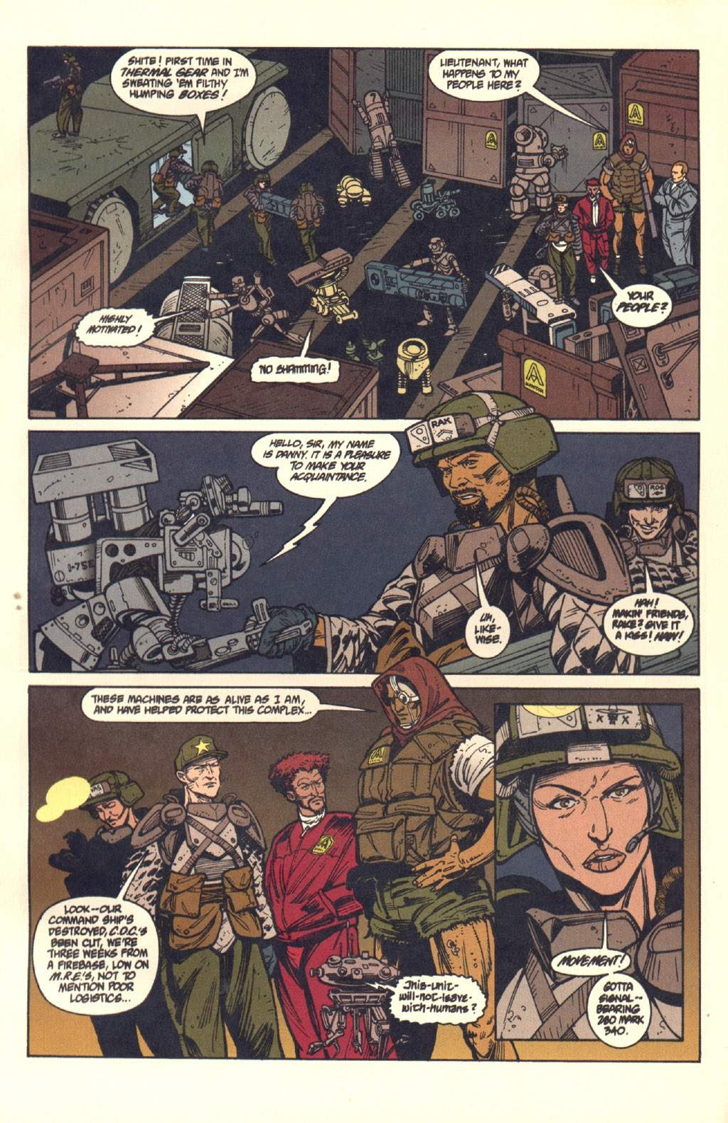Read online Aliens: Colonial Marines comic -  Issue #7 - 14