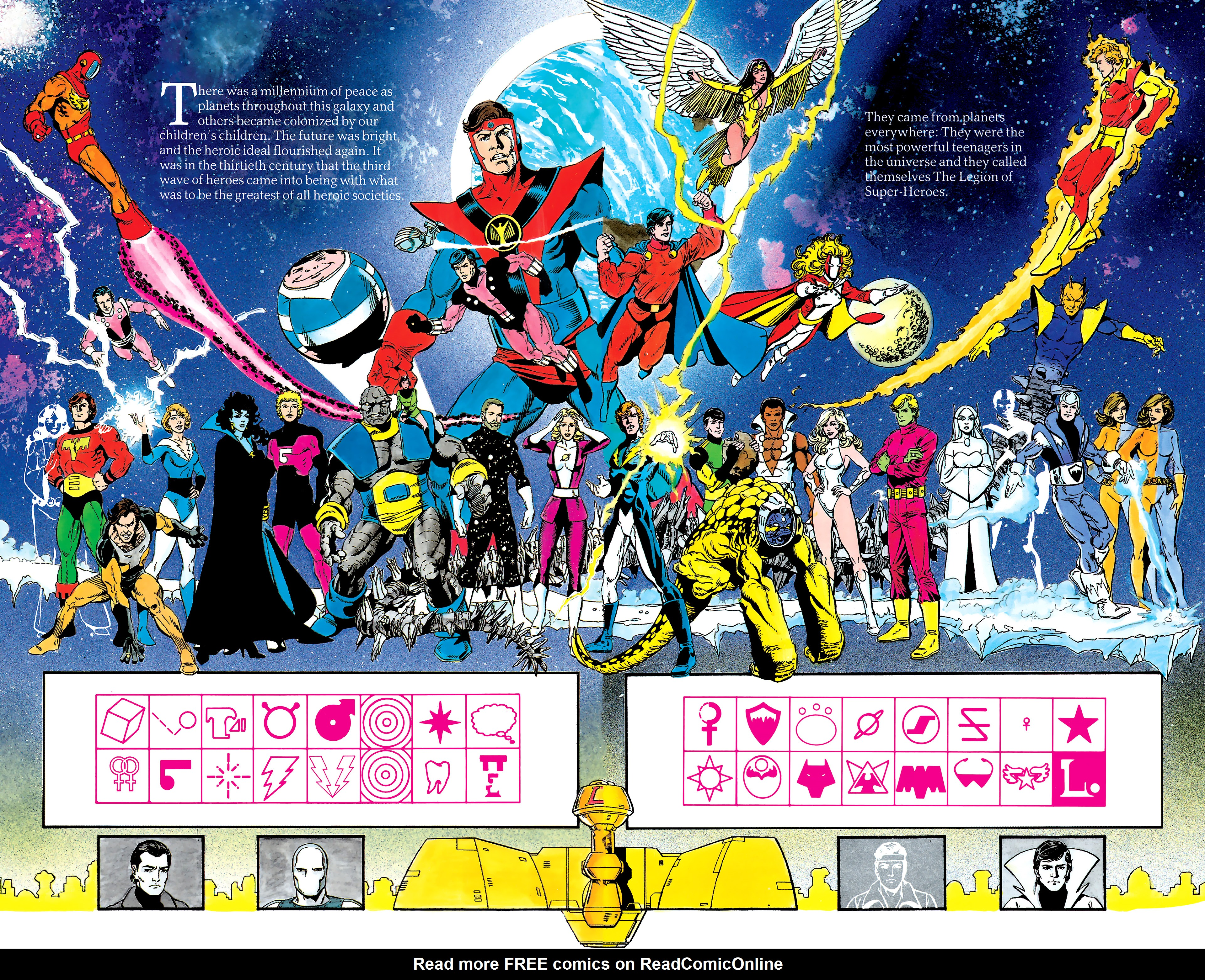 Read online History of the DC Universe comic -  Issue #2 - 45