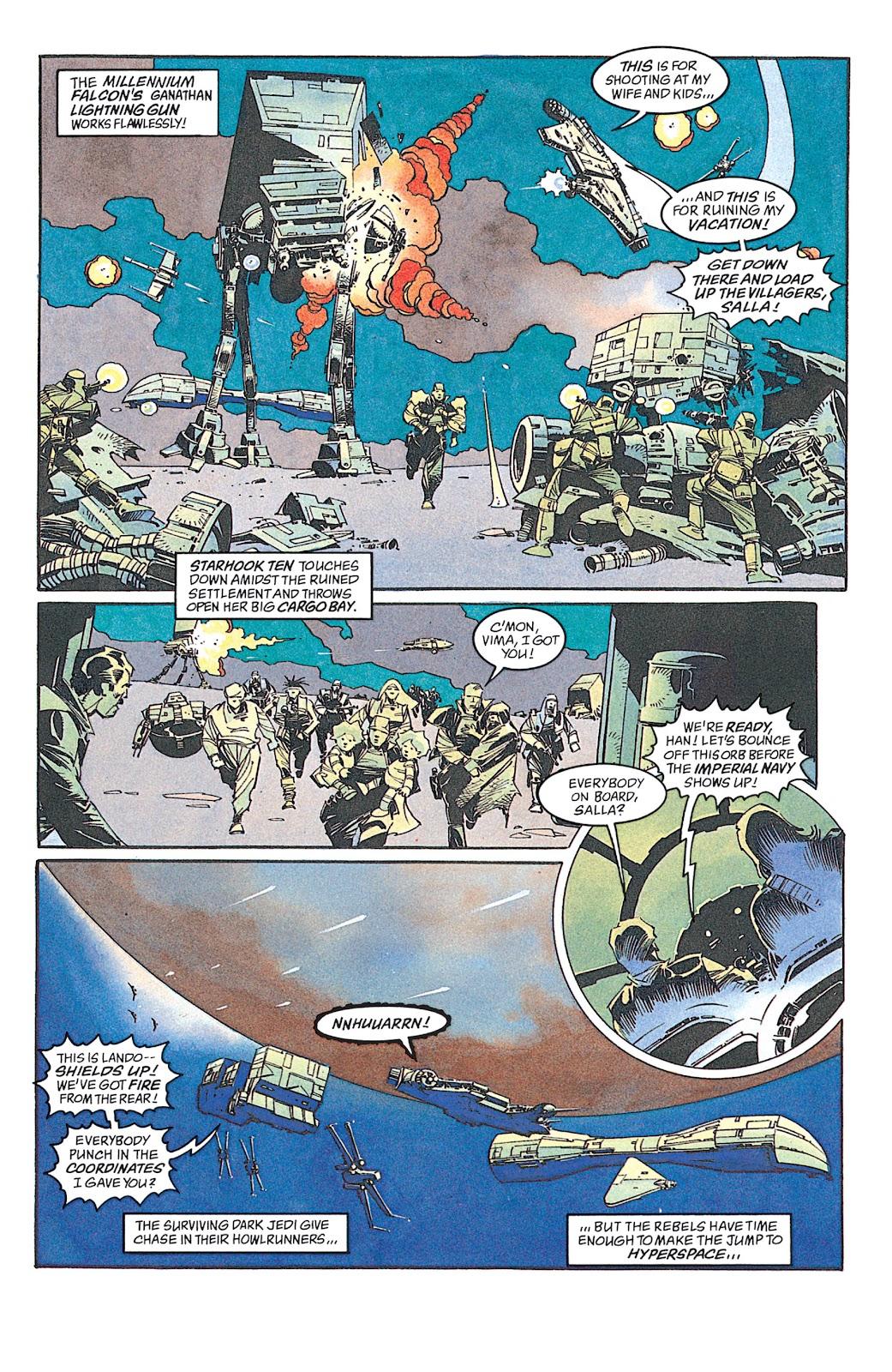 Read online Star Wars: Dark Empire Trilogy comic -  Issue # TPB (Part 4) - 2