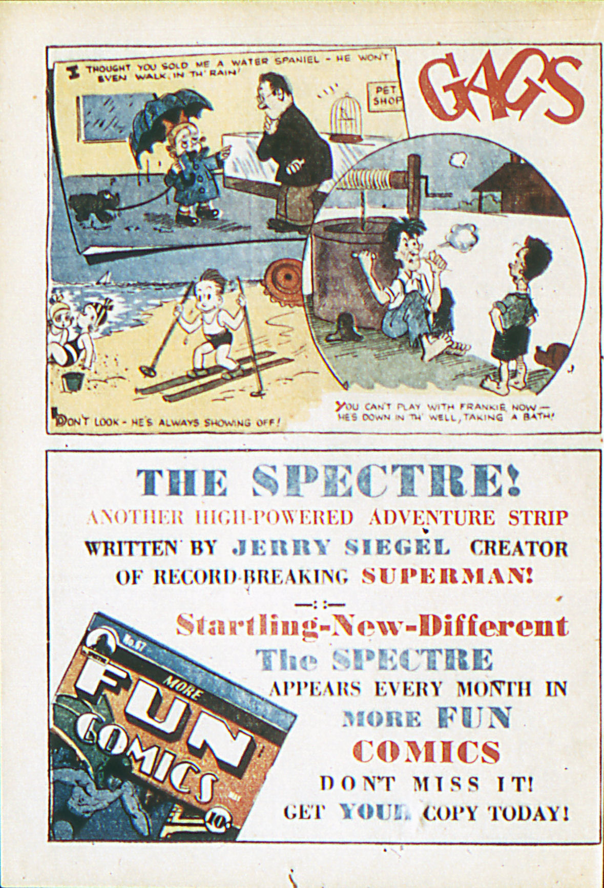 Read online Adventure Comics (1938) comic -  Issue #62 - 31