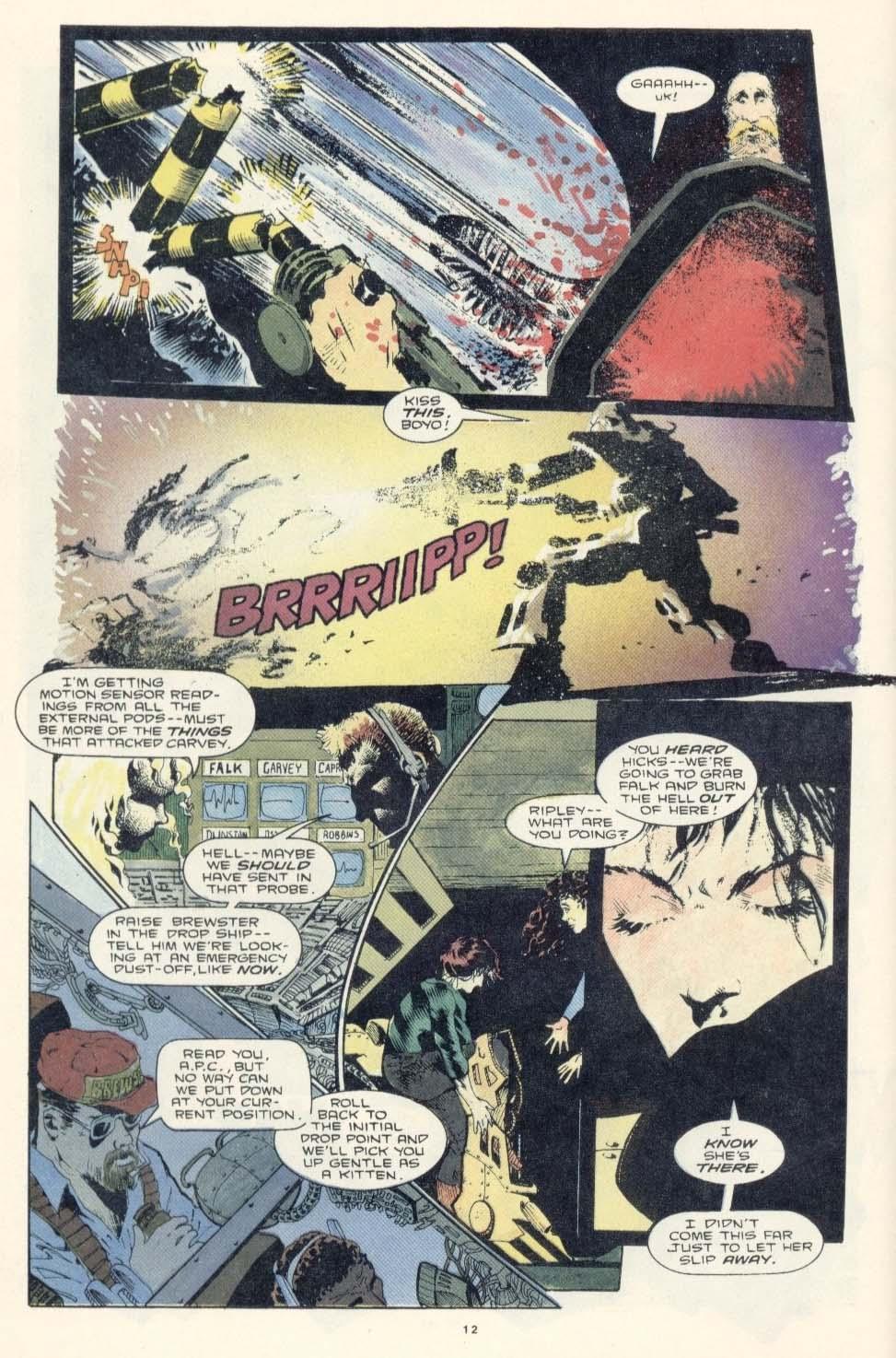 Read online Aliens: Earth War comic -  Issue #3 - 14