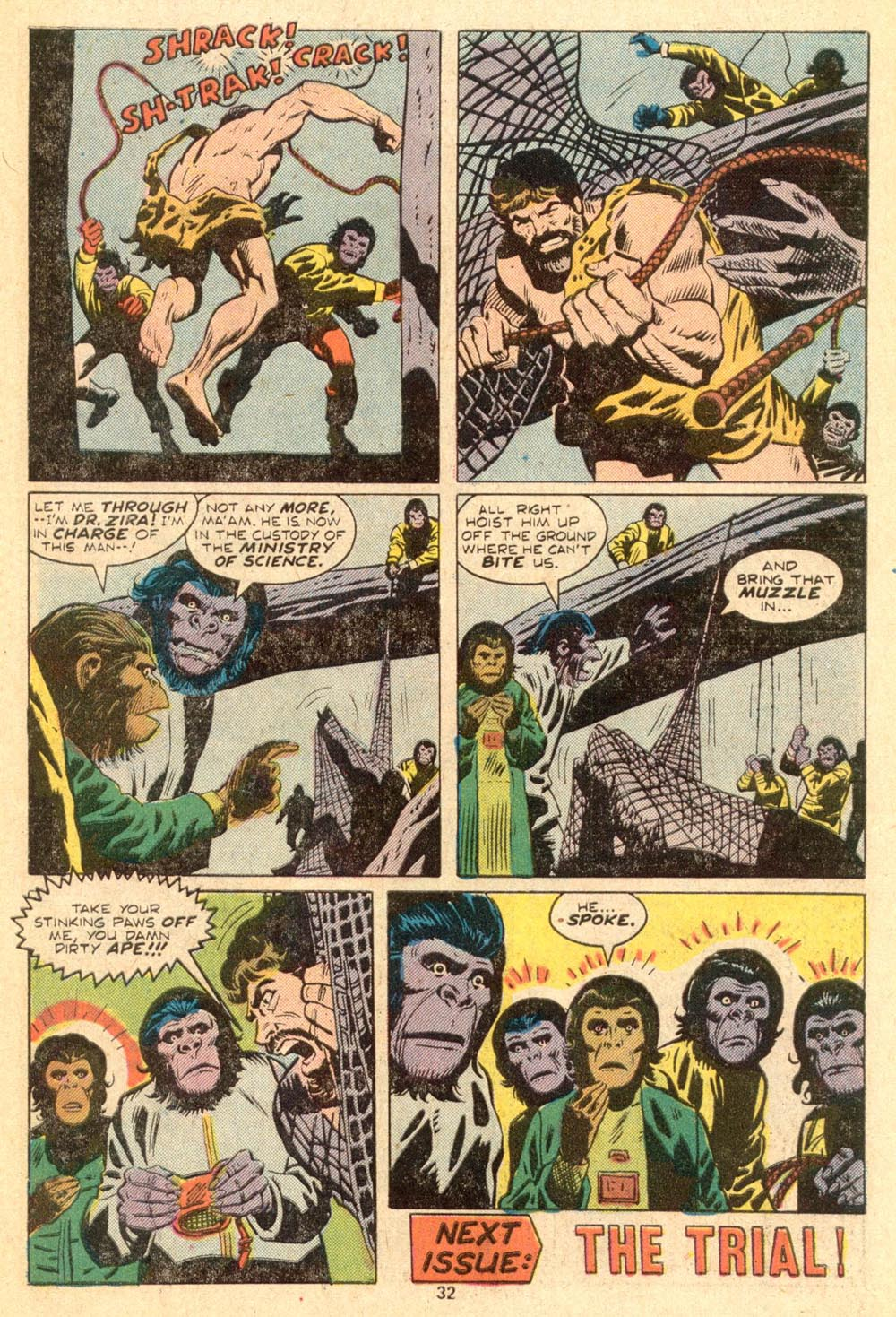 Read online Adventures on the Planet of the Apes comic -  Issue #3 - 22