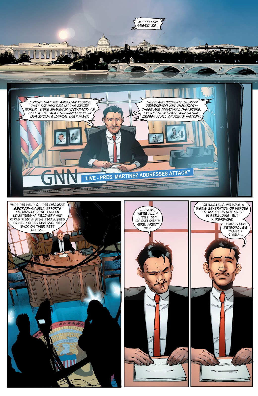 Read online Smallville Season 11 [II] comic -  Issue # TPB 5 - 123