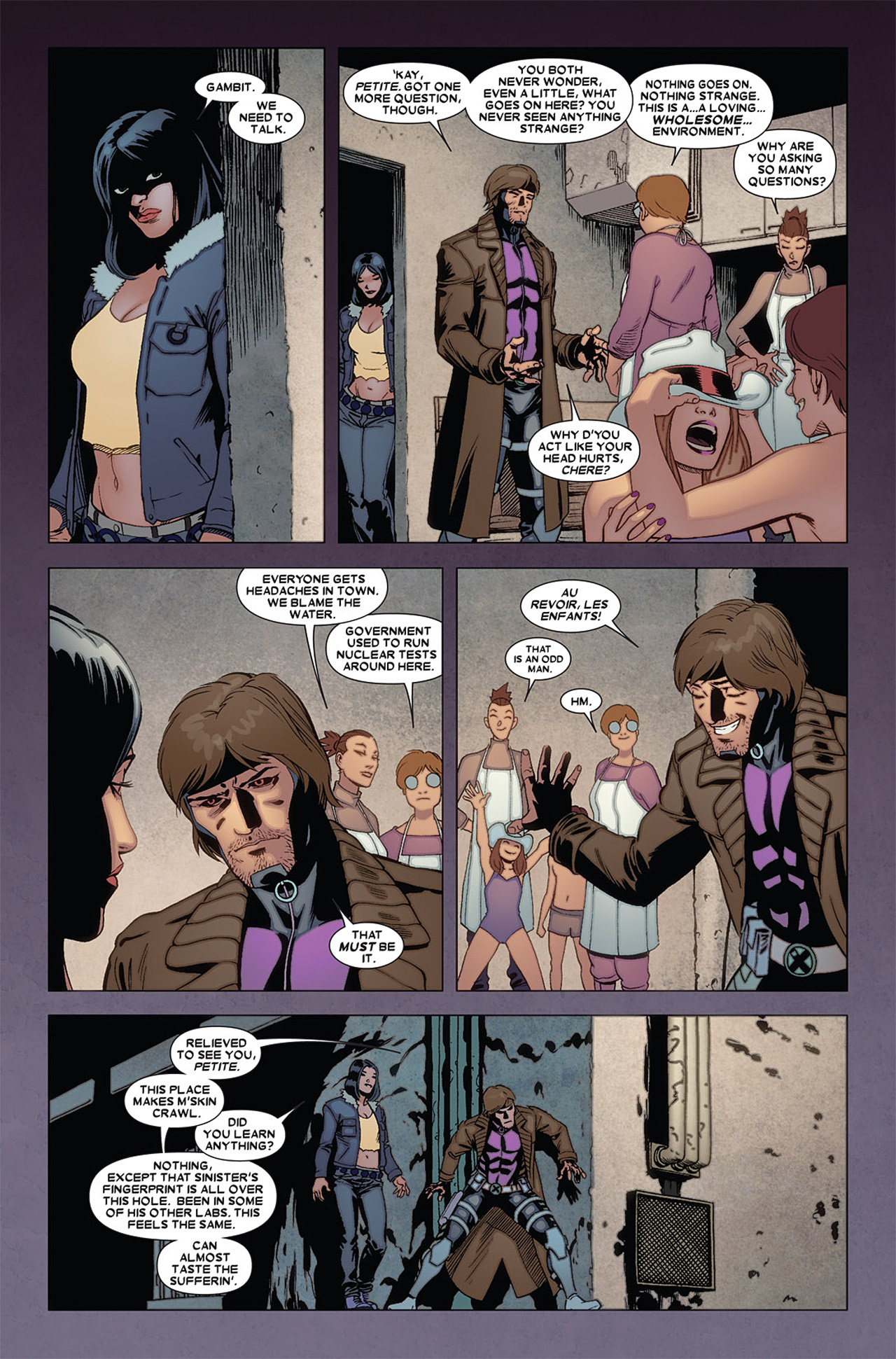 Read online X-23 (2010) comic -  Issue #5 - 19