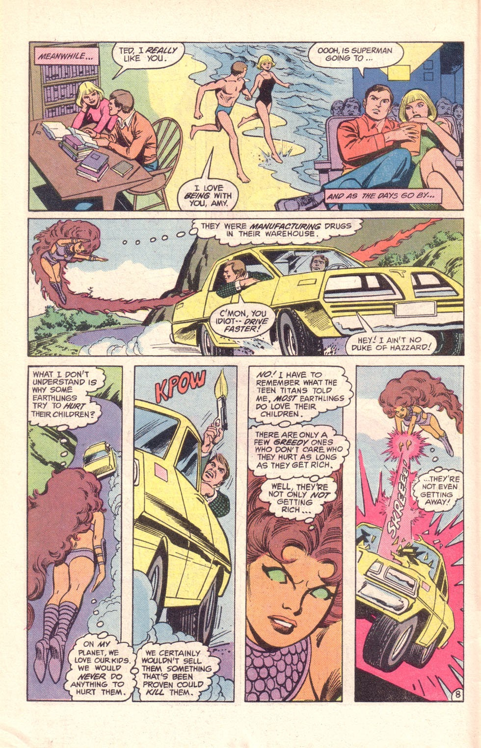 Read online The New Teen Titans (Drug Awareness Specials) comic -  Issue #1 - 10