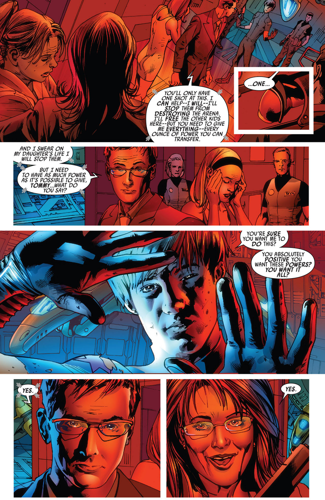 Read online America's Got Powers comic -  Issue #5 - 18
