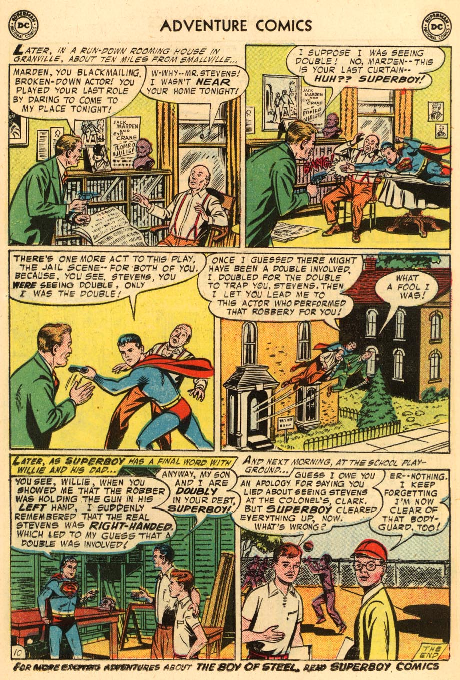 Read online Adventure Comics (1938) comic -  Issue #228 - 12