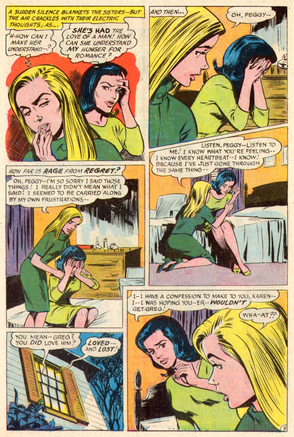 Read online Secret Hearts comic -  Issue #117 - 22