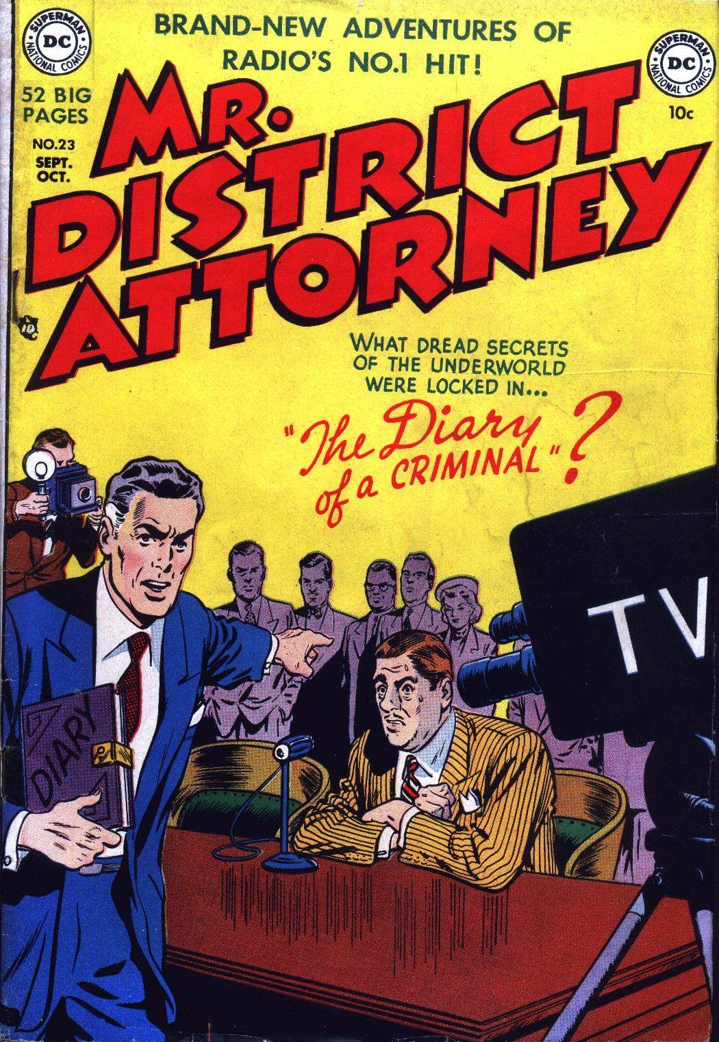 Mr. District Attorney issue 23 - Page 1