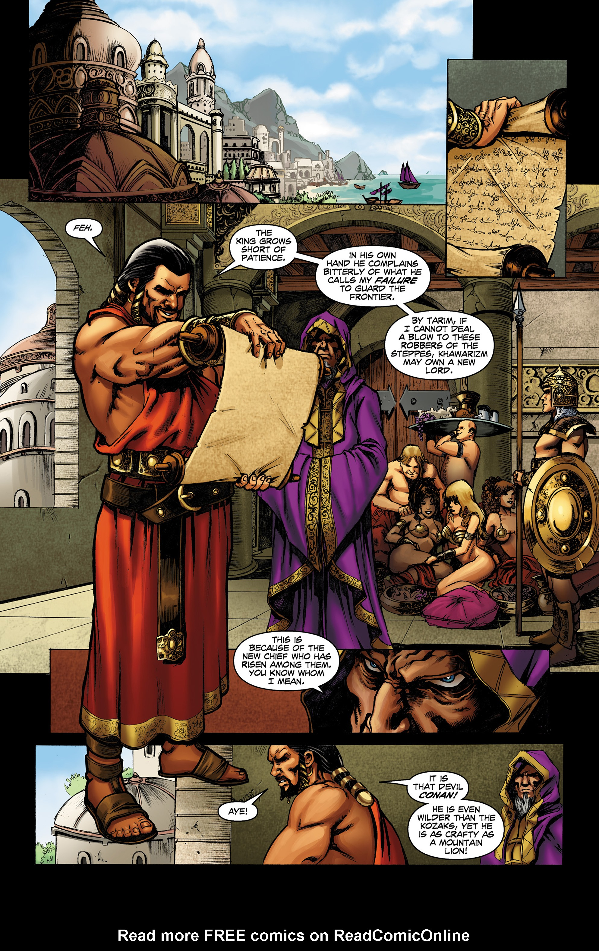 Read online Conan The Slayer comic -  Issue #8 - 7