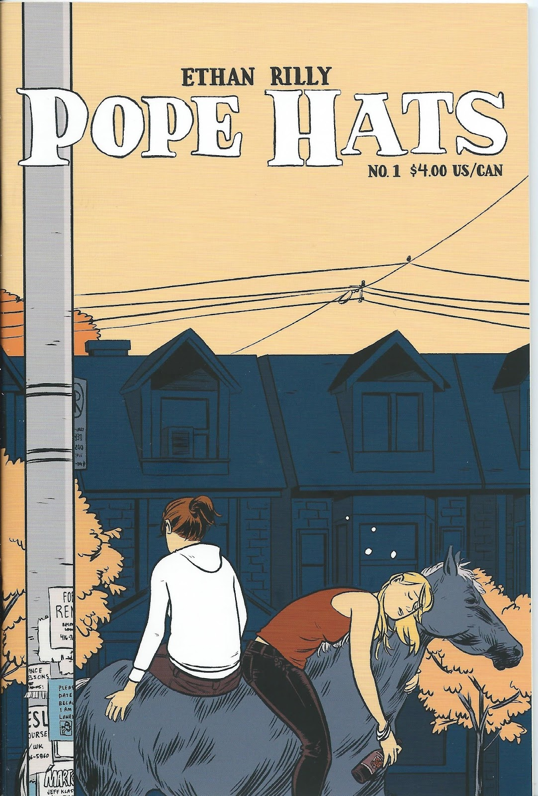Read online Pope Hats comic -  Issue #1 - 1